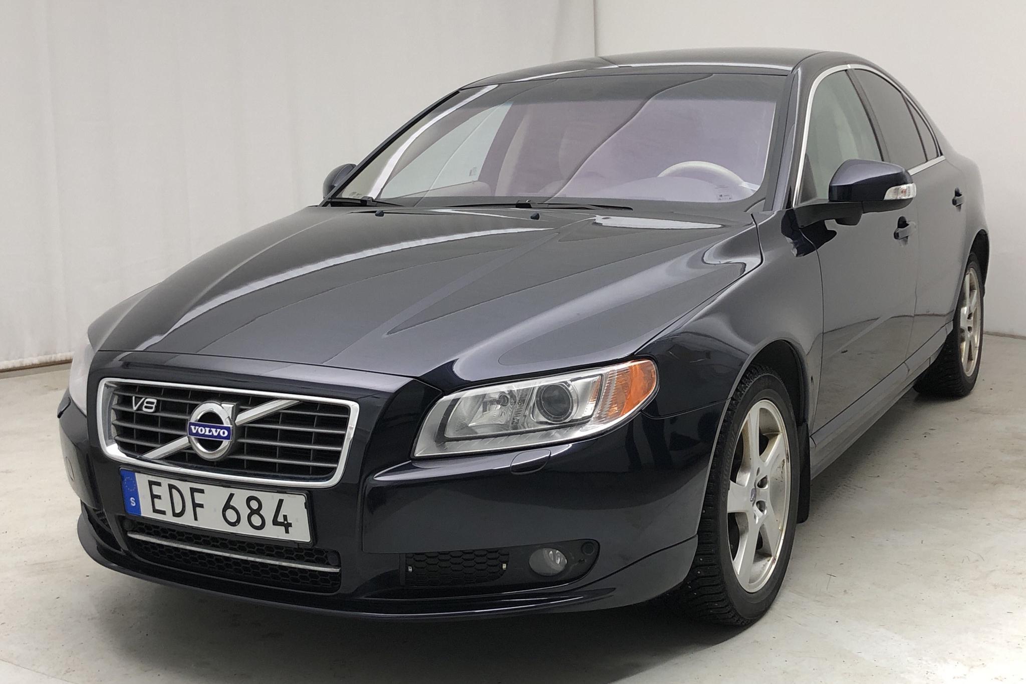 Volvo S80 V8 AWD (315hk) - 207 500 km - Automatic - blue - 2008