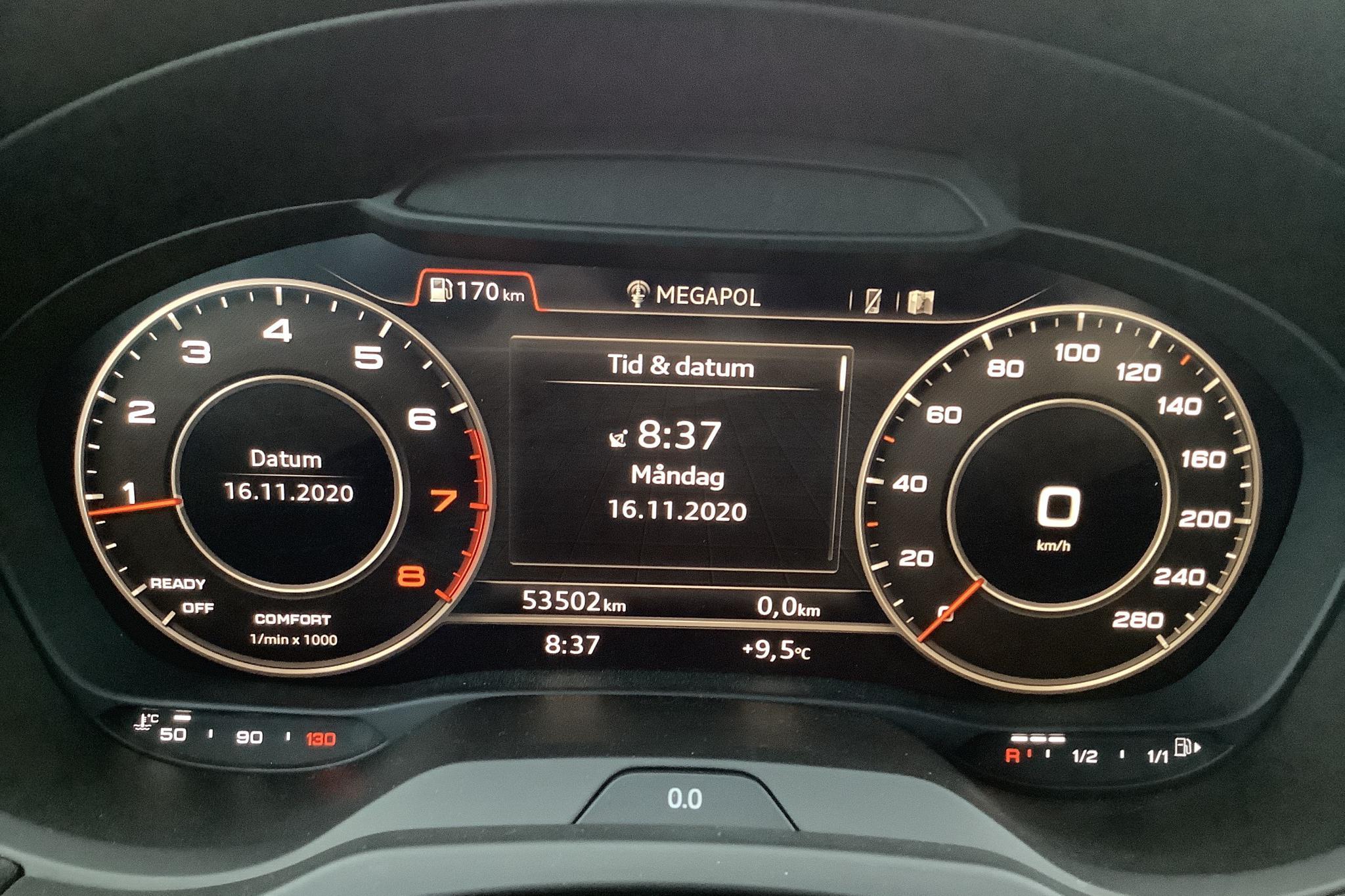 Audi A3 1.4 TFSI Sedan (150hk) - 5 350 mil - Manuell - blå - 2017
