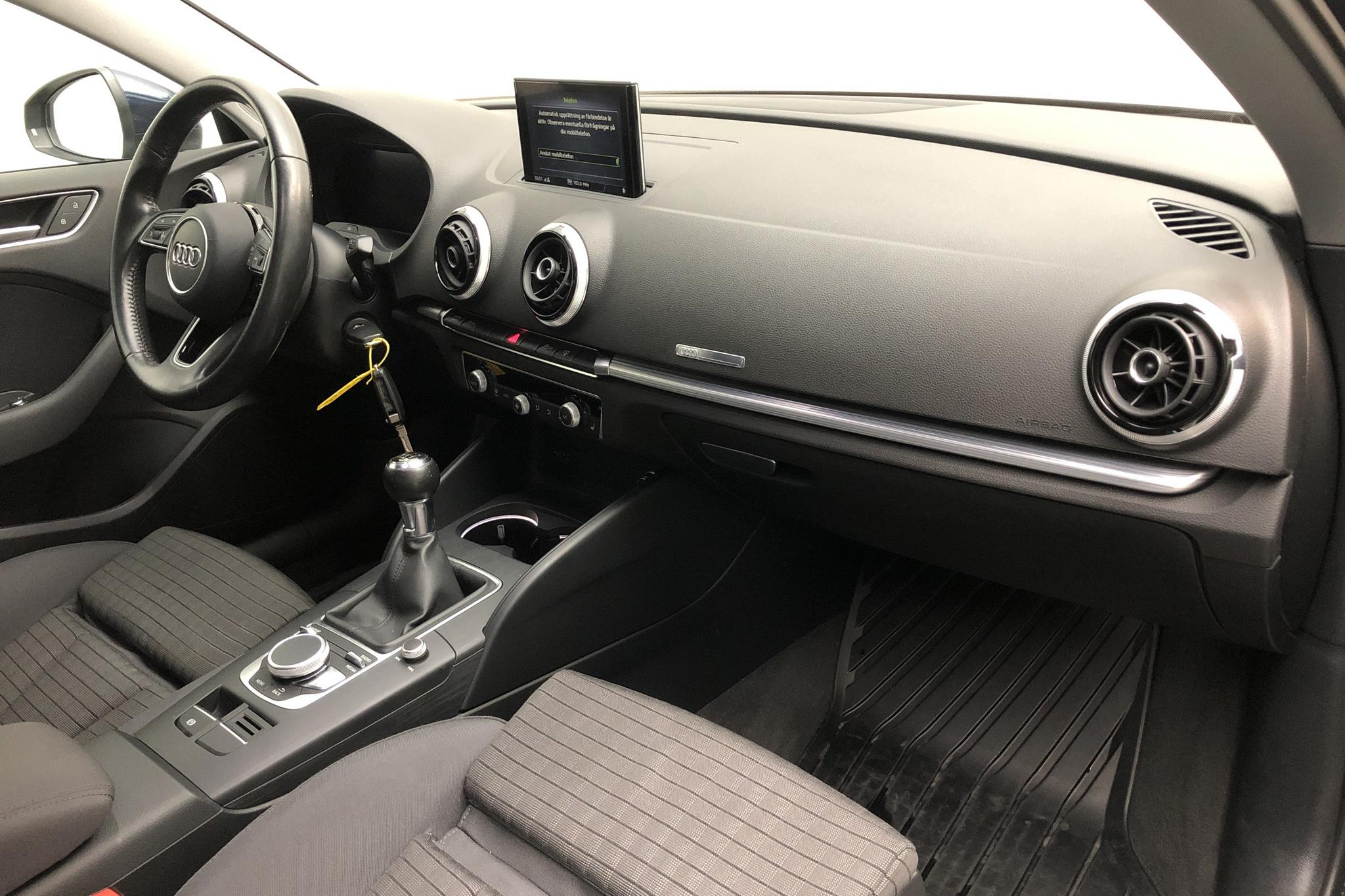 Audi A3 1.4 TFSI Sedan (150hk) - 53 500 km - Manual - blue - 2017