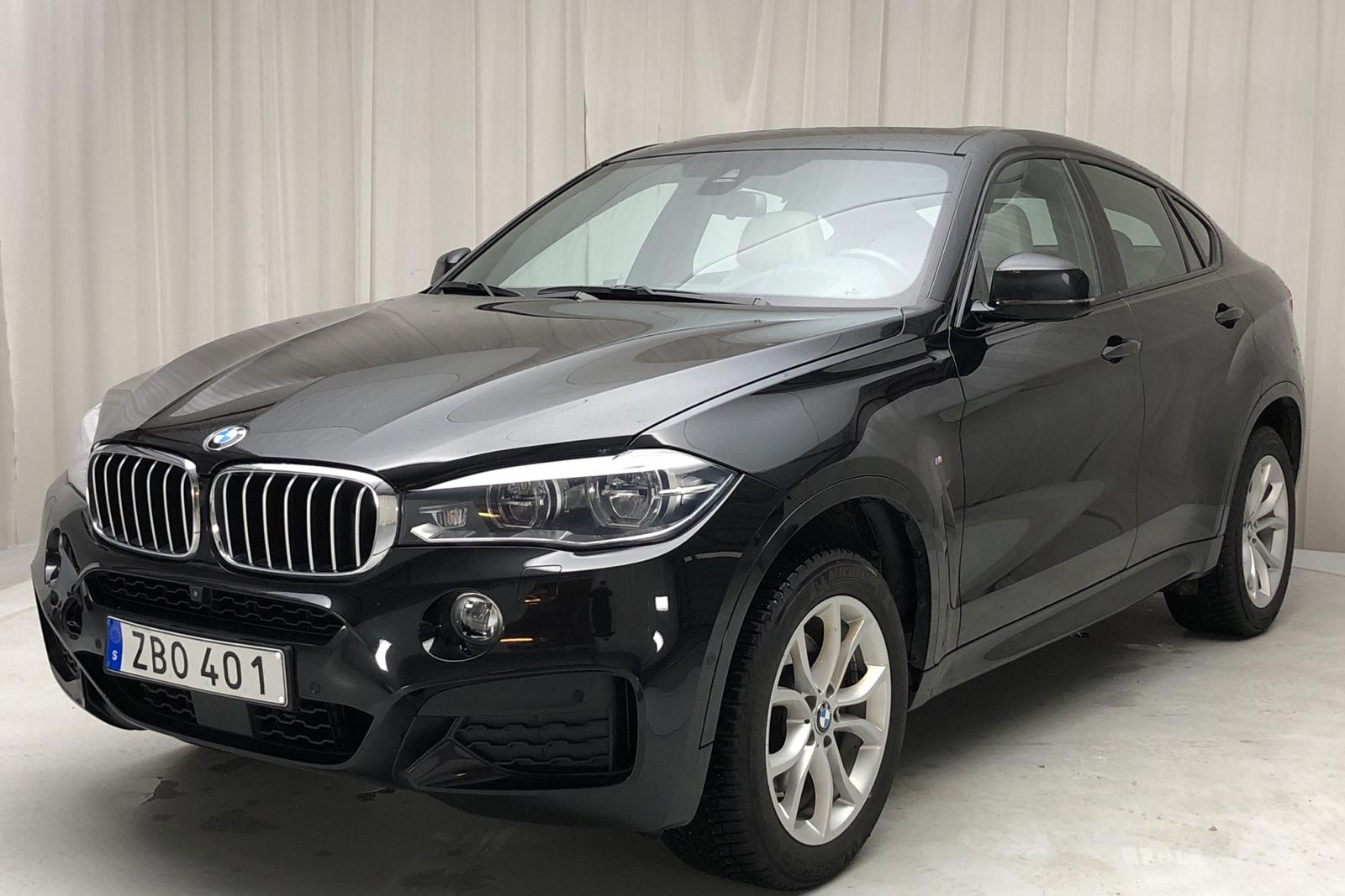 BMW X6 xDrive 40d, F16 (313hk) - 87 970 km - Automatic - black - 2018