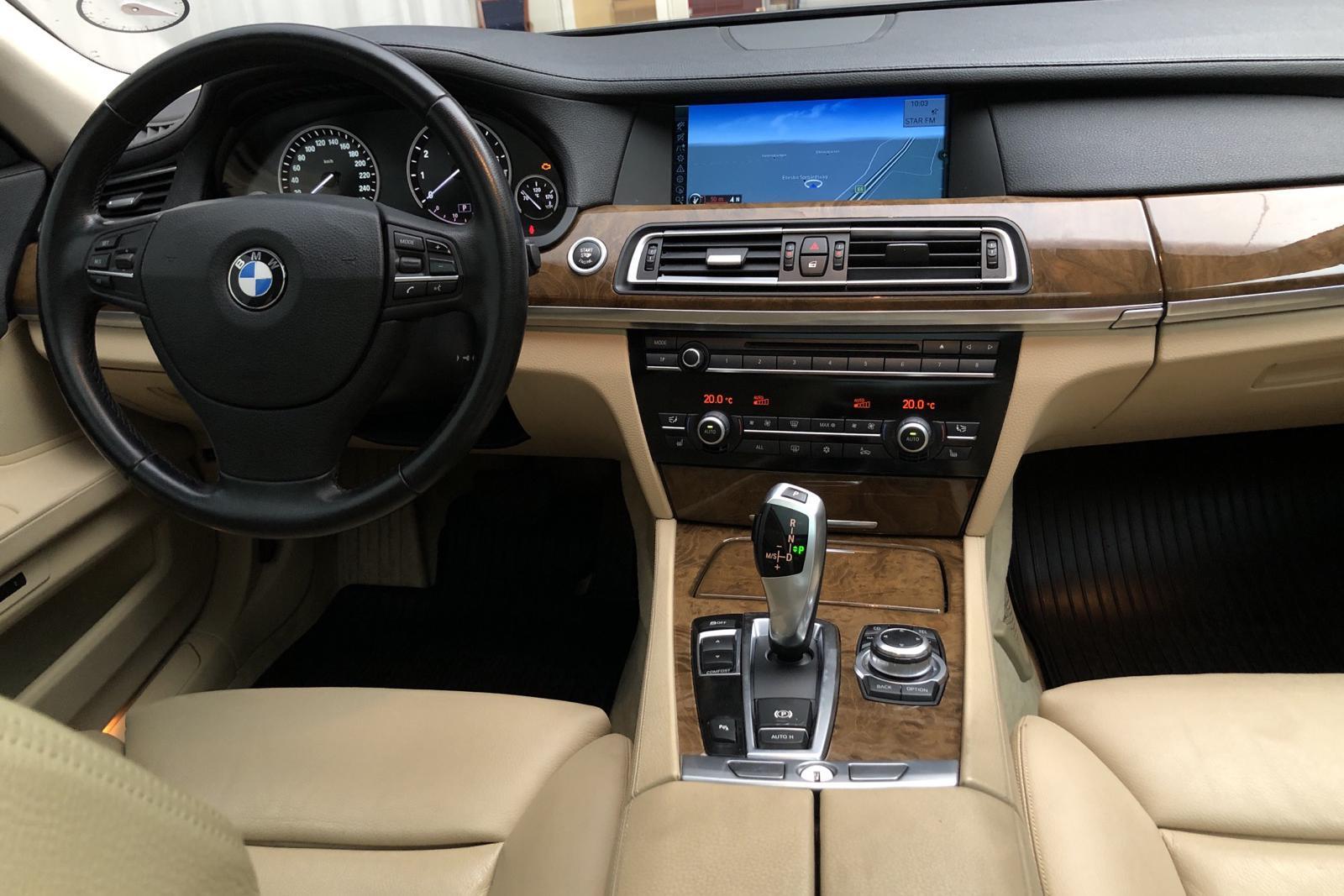 BMW 750i Sedan, F01 (407hk) - 173 230 km - Automatic - black - 2009