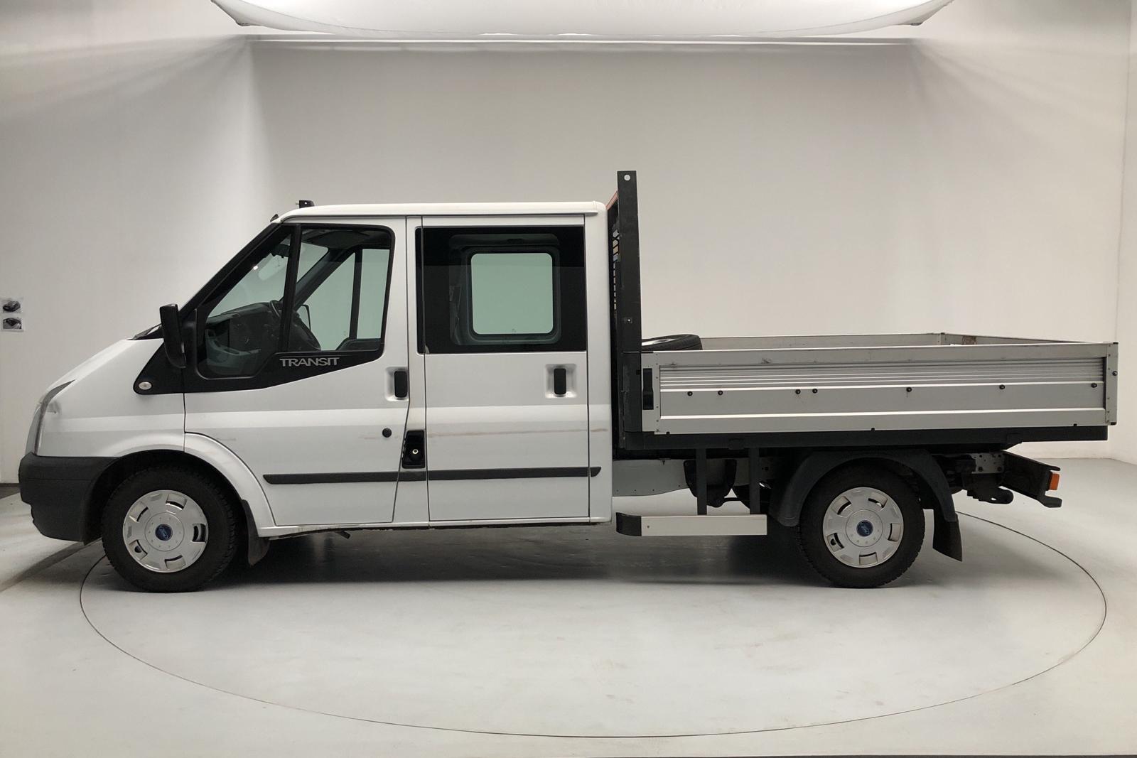 Ford Transit 300 2.2 TDCi Pickup (125hk) - 8 278 mil - Manuell - vit - 2013