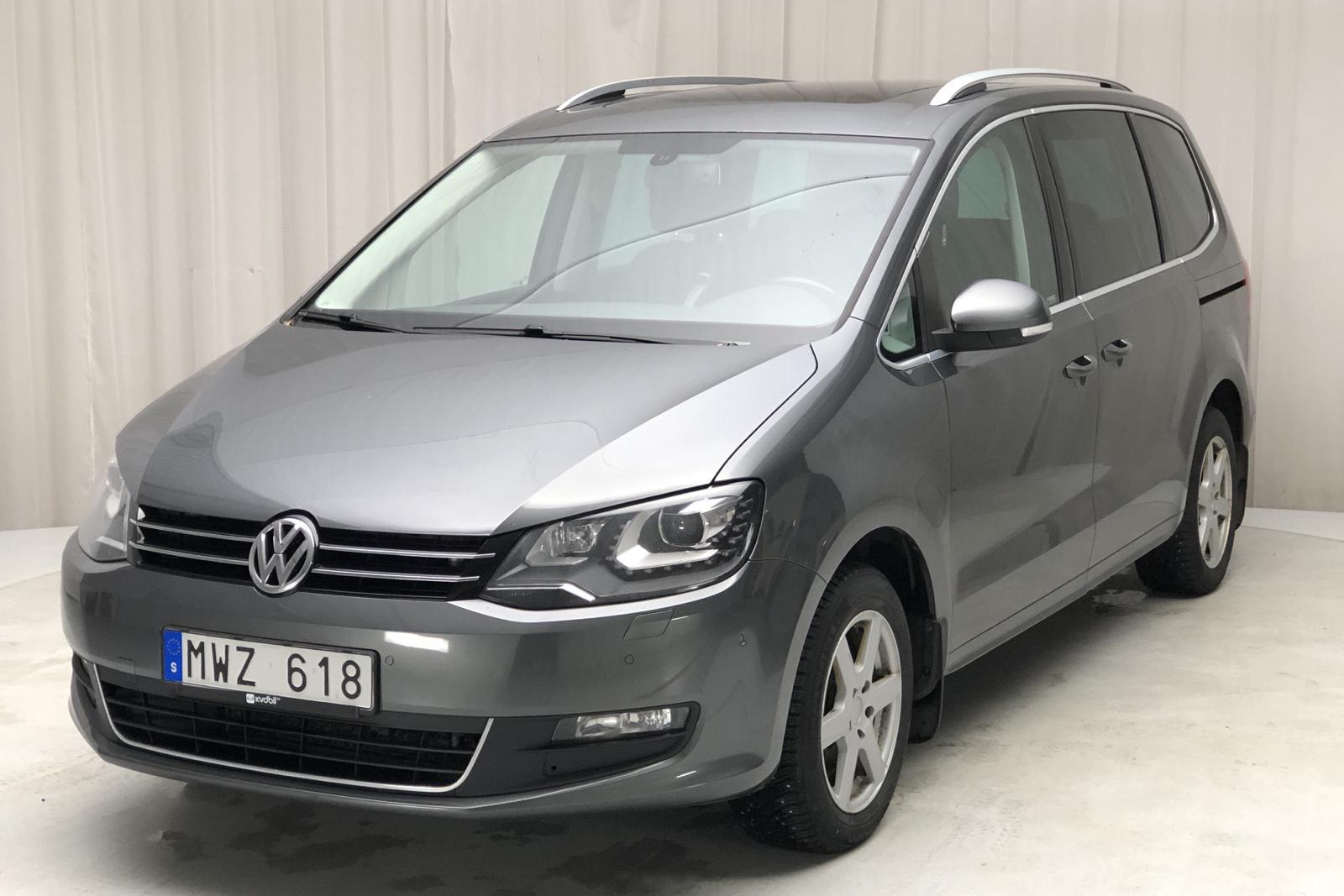 VW Sharan 2.0 TDI BlueMotion Technology (140hk) - 209 750 km - Automatic - gray - 2013