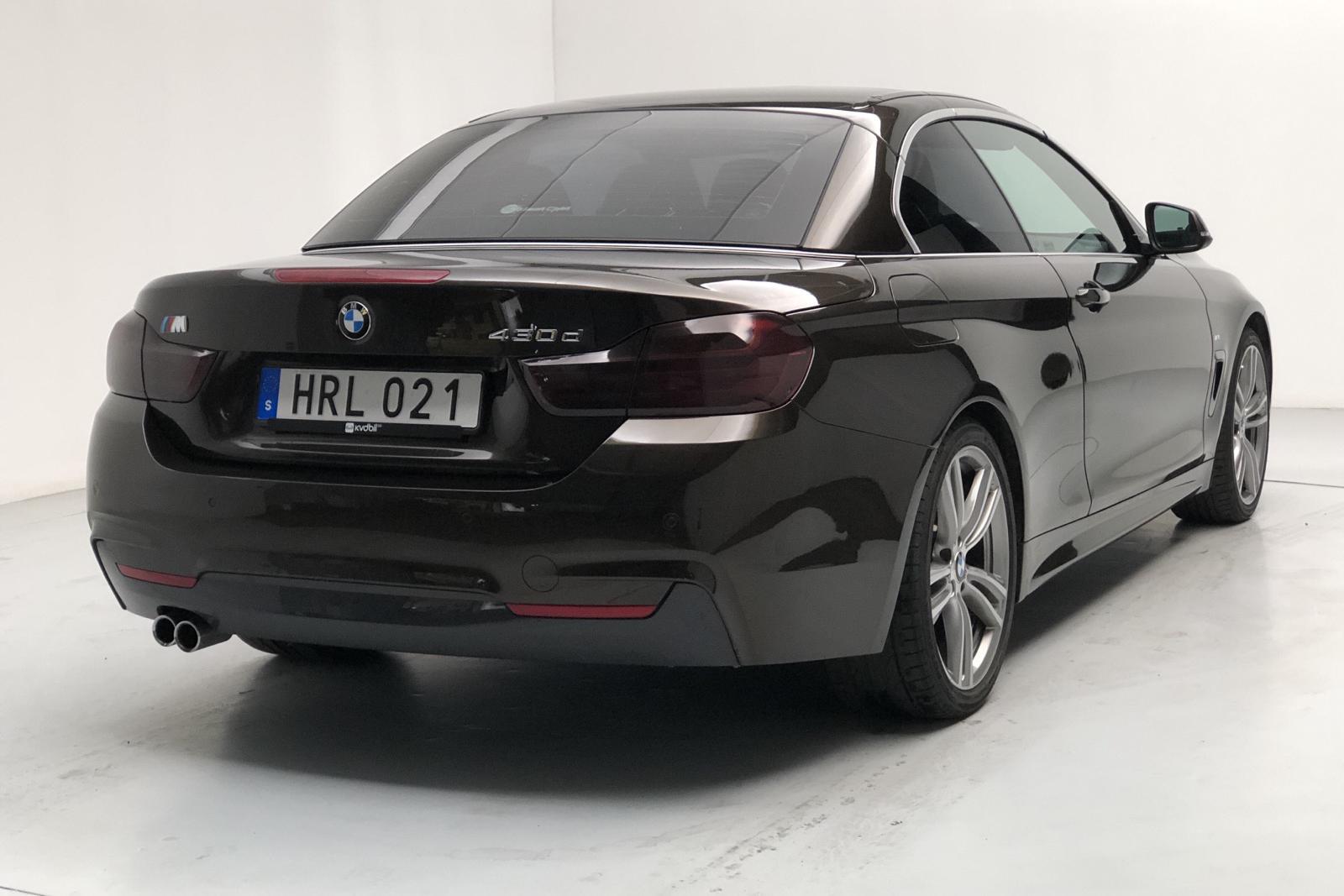 BMW 430d Cabriolet, F33 (258hk) - 4 457 mil - Automat - brun - 2015