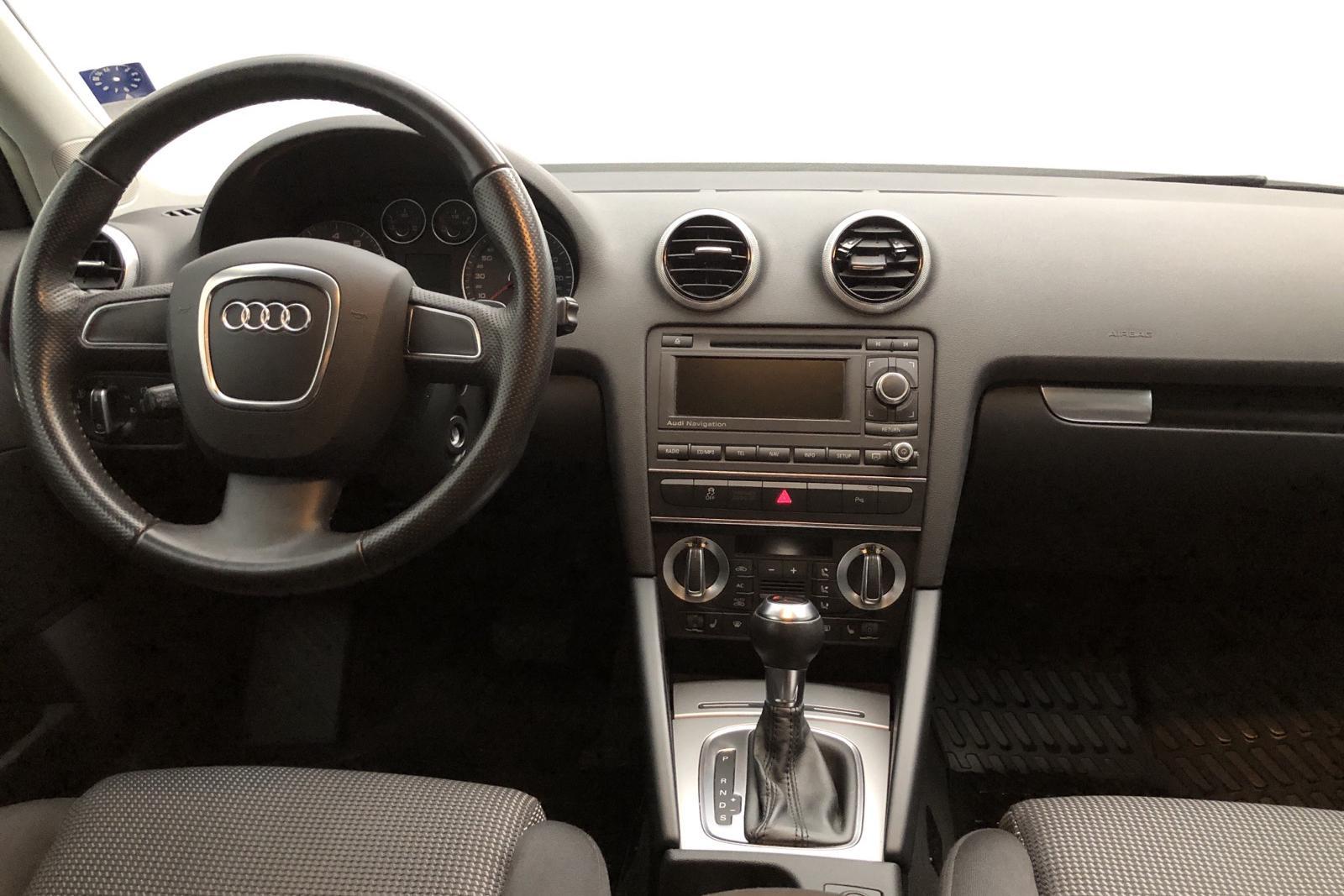 Audi A3 2.0 TFSI Sportback quattro (200hk) - 9 523 mil - Automat - vit - 2012