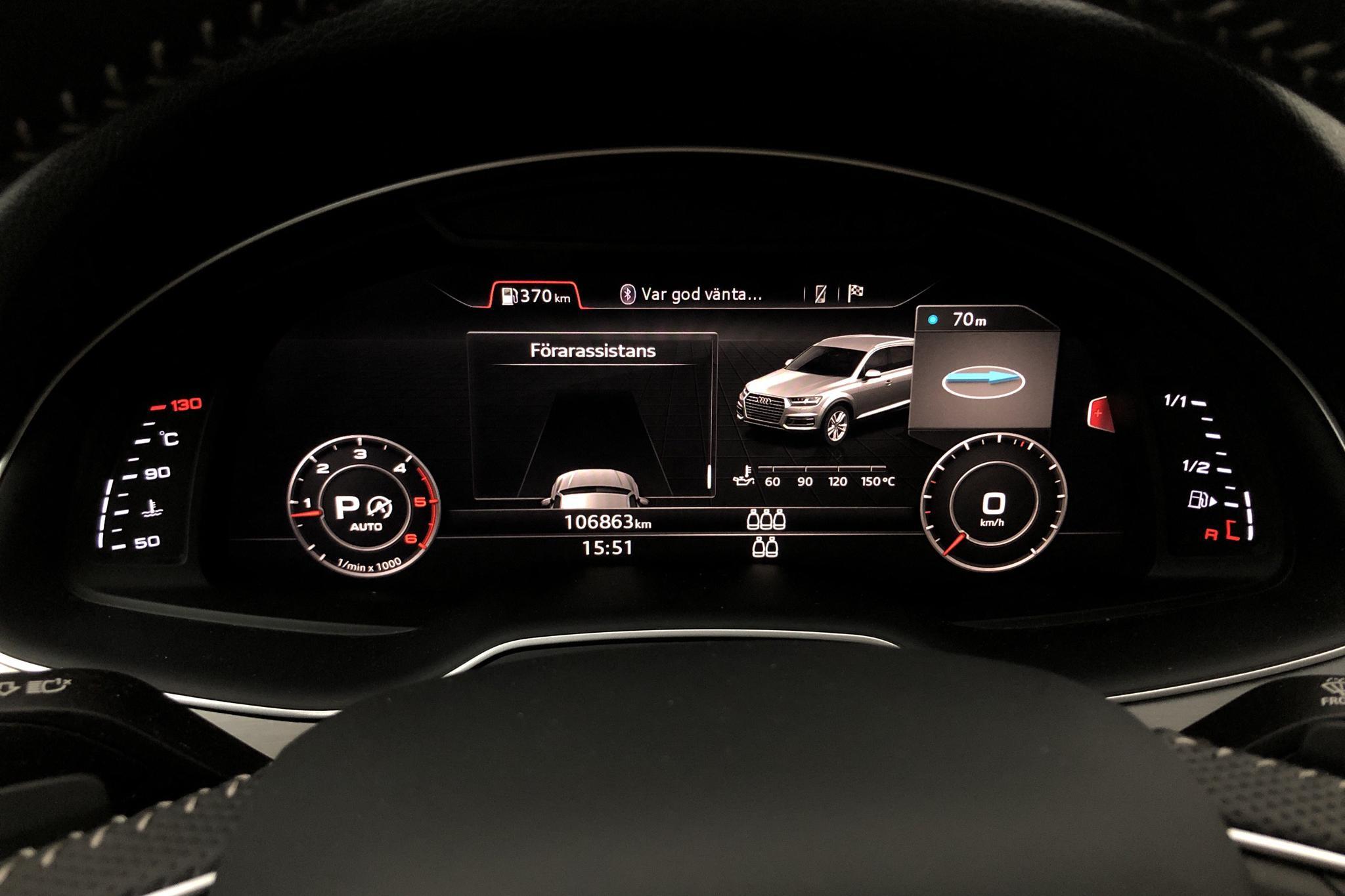 Audi Q7 3.0 TDI ultra quattro (218hk) - 106 860 km - Automatic - gray - 2018