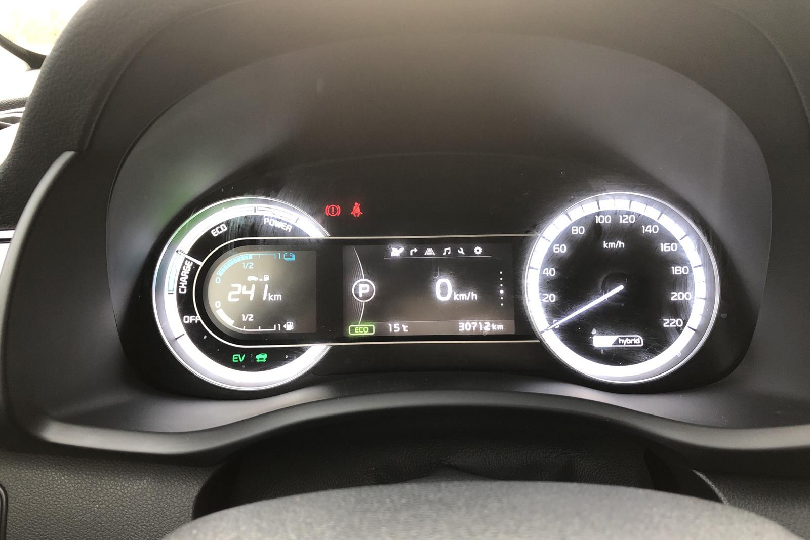 KIA Niro Hybrid 1.6 (141hk) - 3 071 mil - Automat - grå - 2018