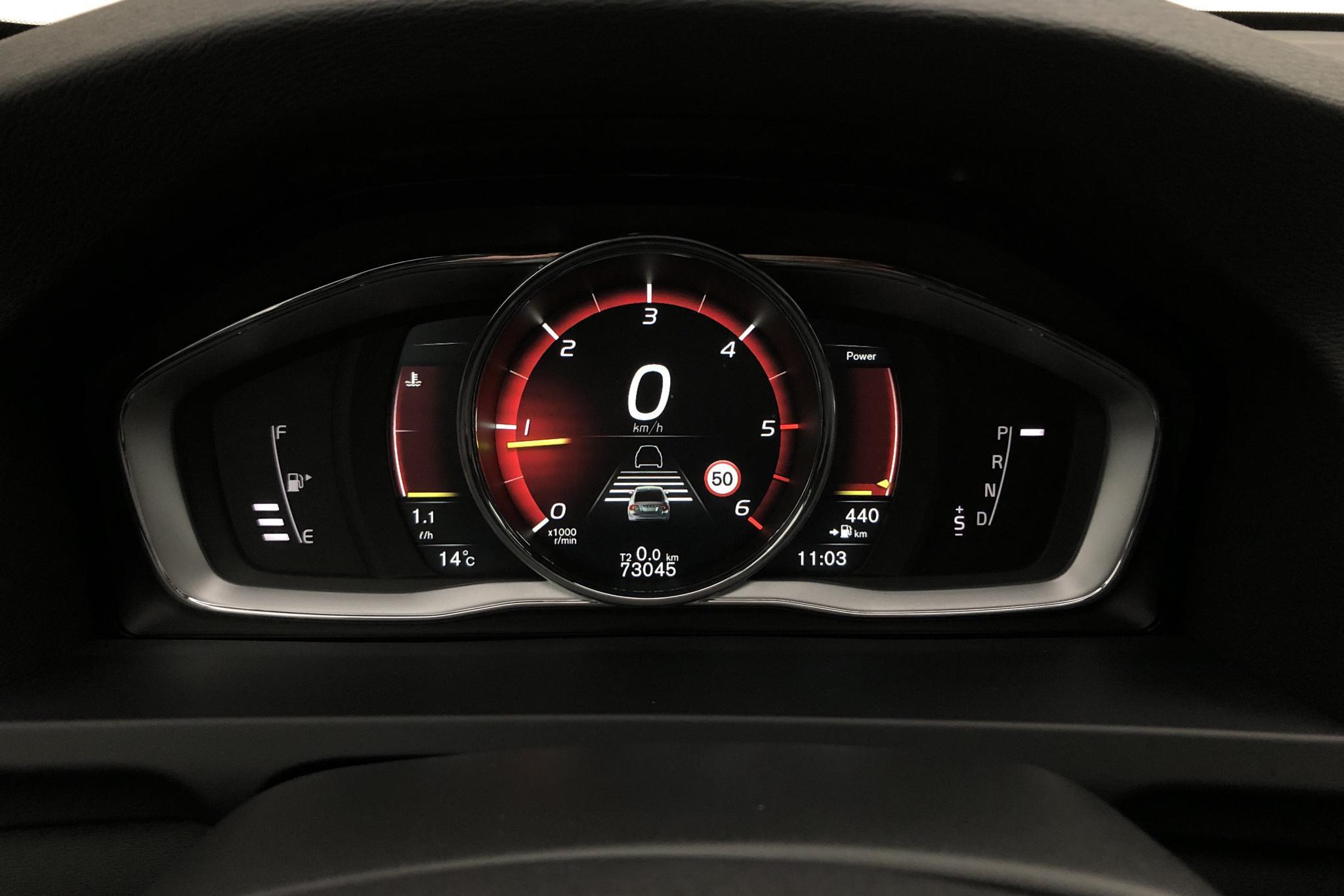 Volvo S60 D4 (190hk) - 7 304 mil - Automat - vit - 2017