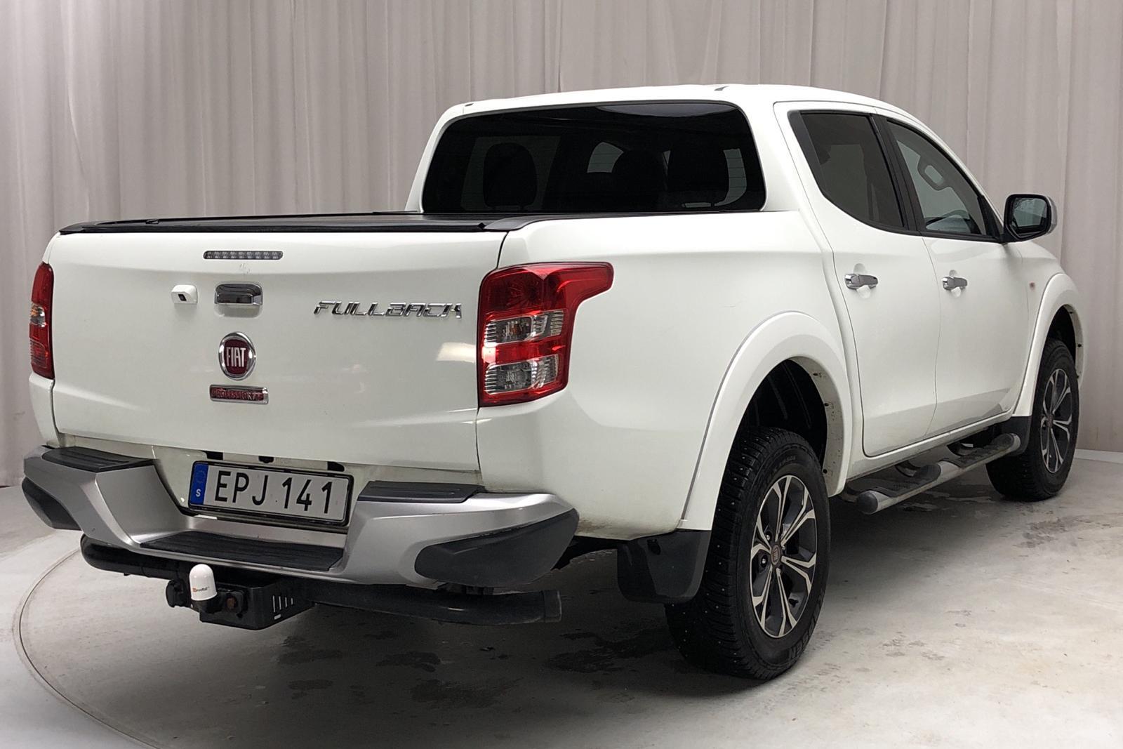 Fiat Fullback 2.4 4x4 (180hk) - 125 820 km - Manual - white - 2016