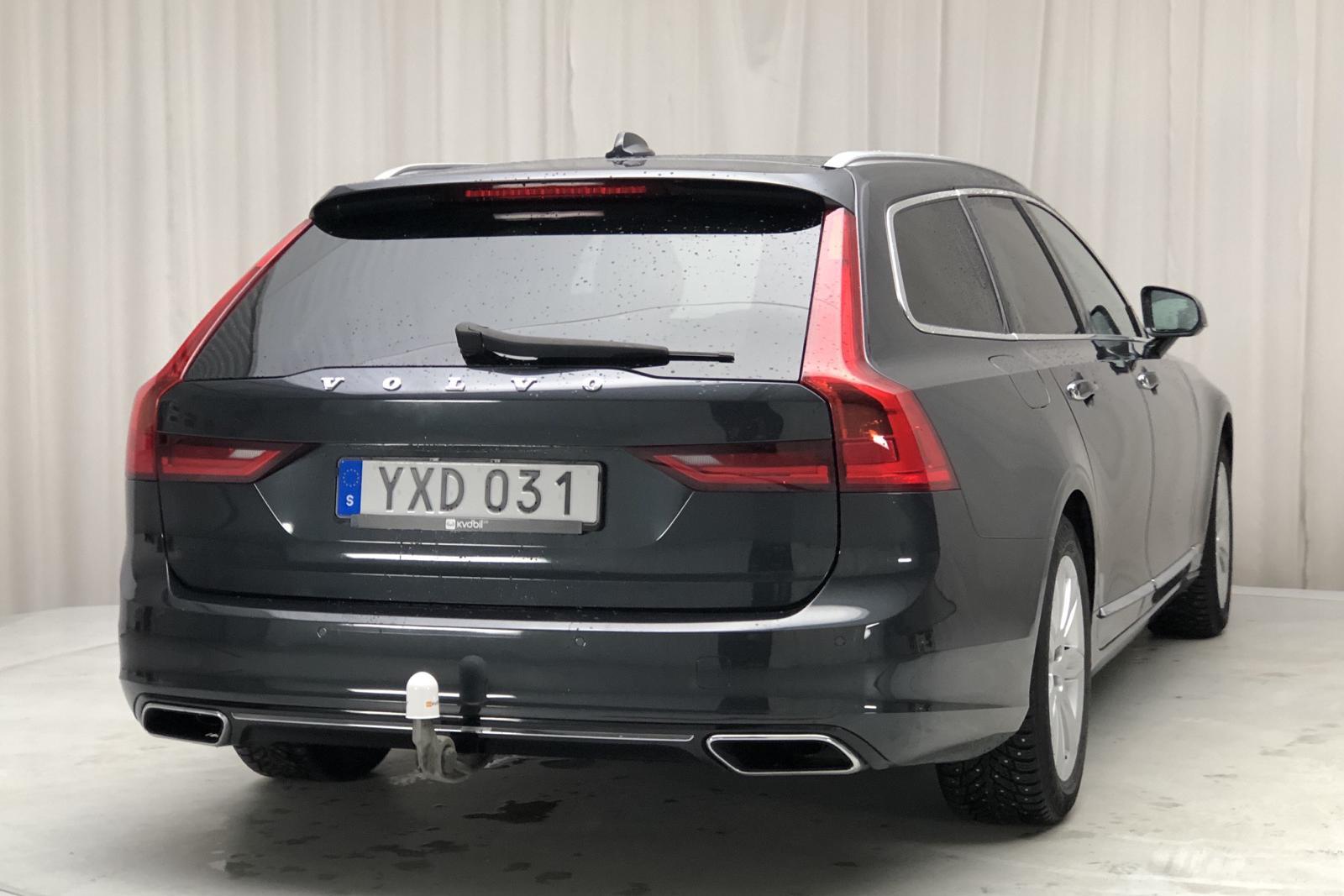 Volvo V90 D3 AWD Inscription Navi (150hk) - 12 287 mil - Automat - grå - 2018