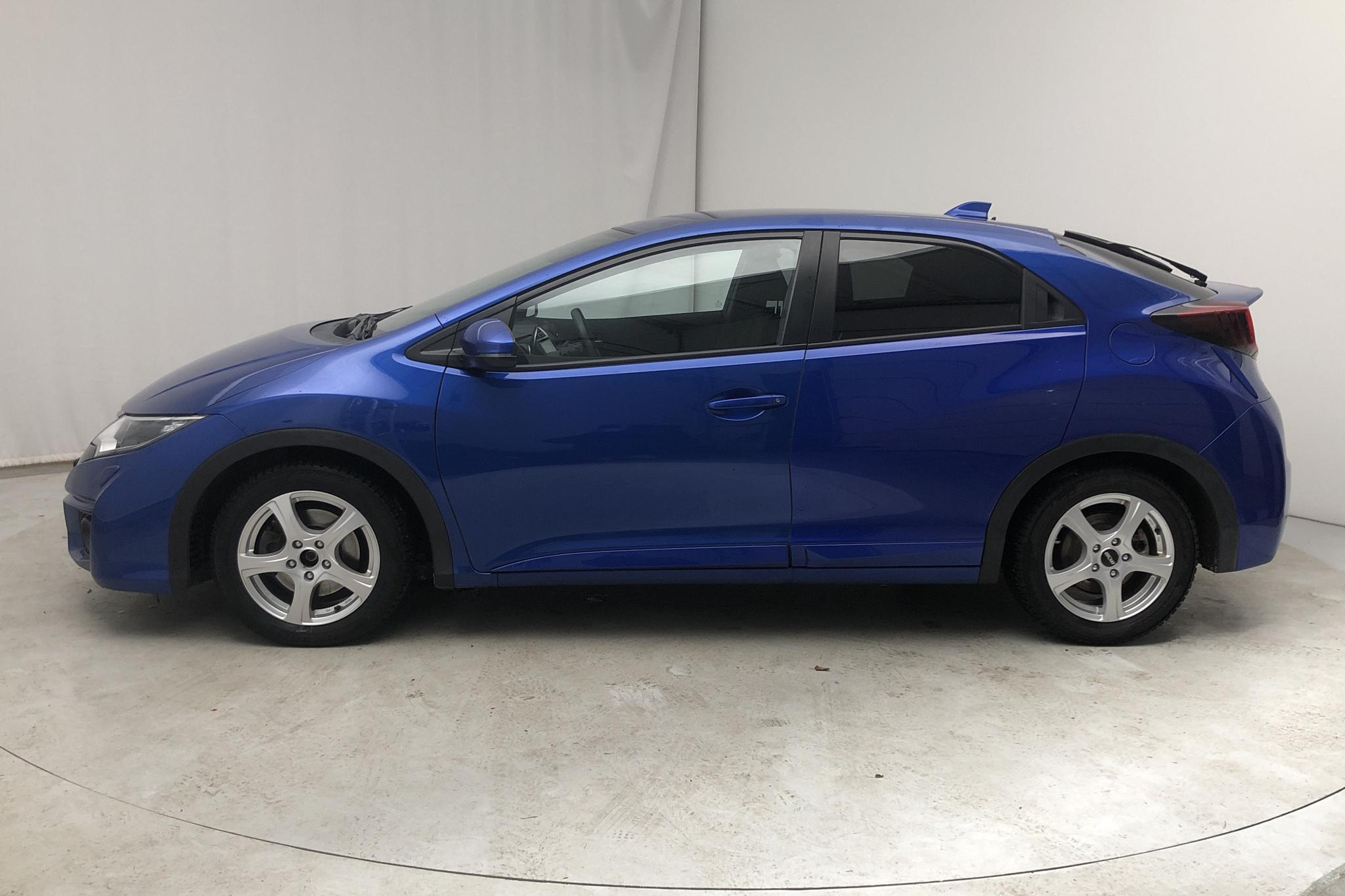 Honda Civic 1.6 i-DTEC 5dr (120hk) - 57 800 km - Manual - blue - 2015