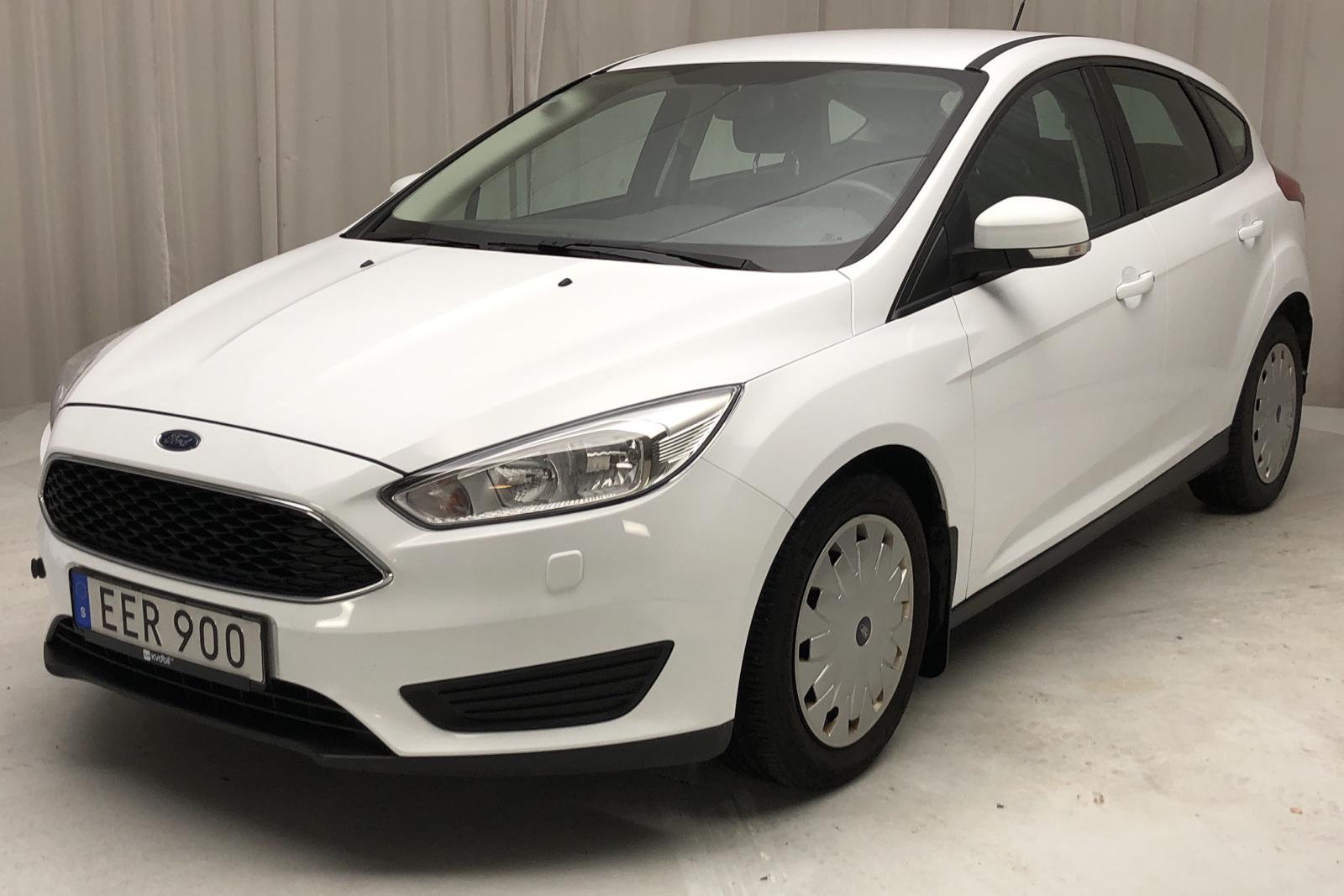 Ford Focus 1.5 TDCi ECOnetic 5dr (105hk) - 70 860 km - Manual - white - 2016