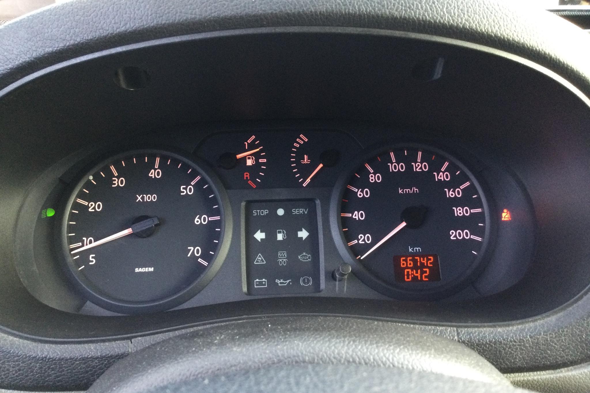 Renault Kangoo Express 1.5 dCi Skåp (65hk) - 6 674 mil - Manuell - Dark Blue - 2004