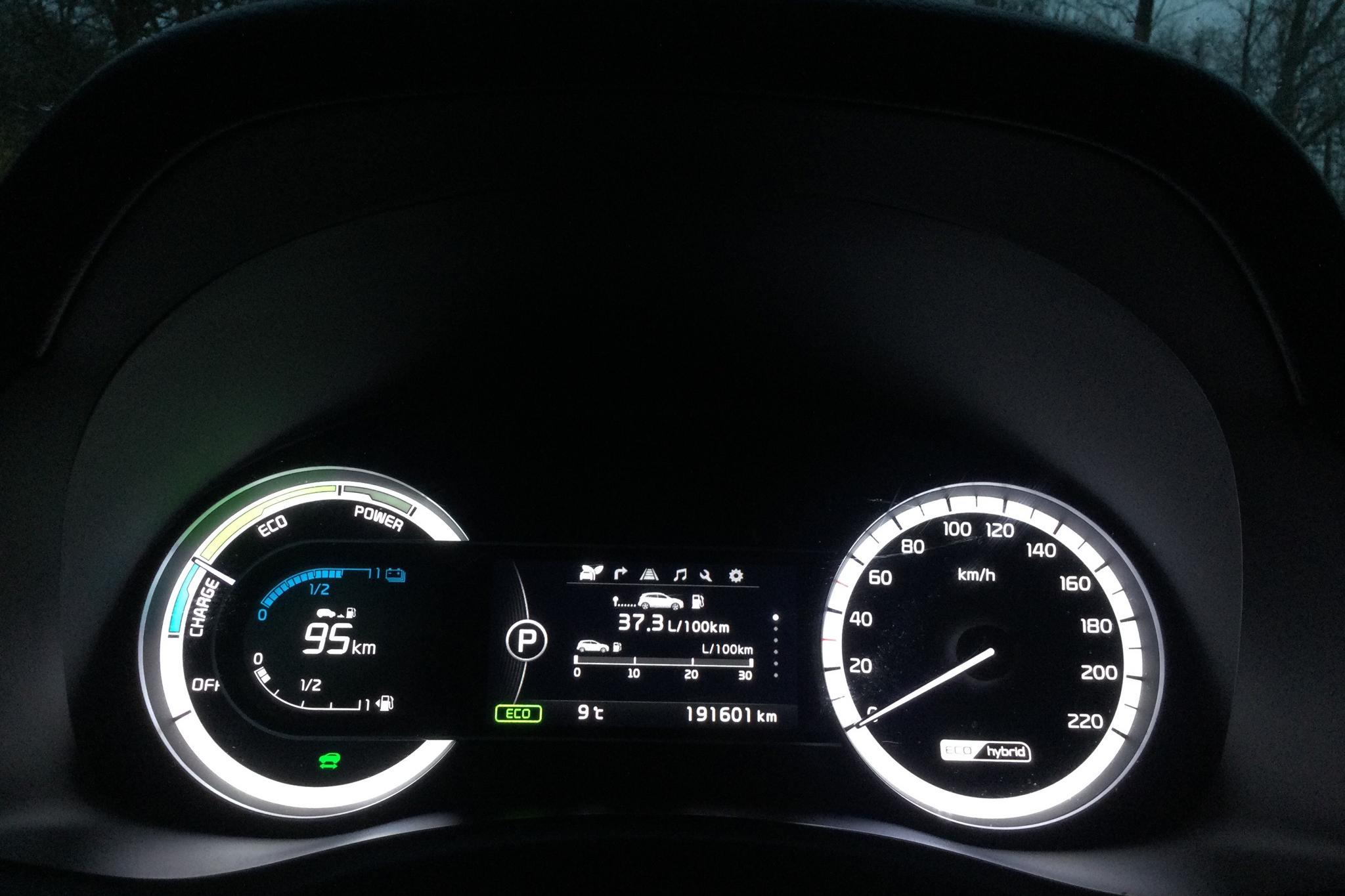 KIA Niro Hybrid 1.6 (141hk) - 19 160 mil - Automat - vit - 2018