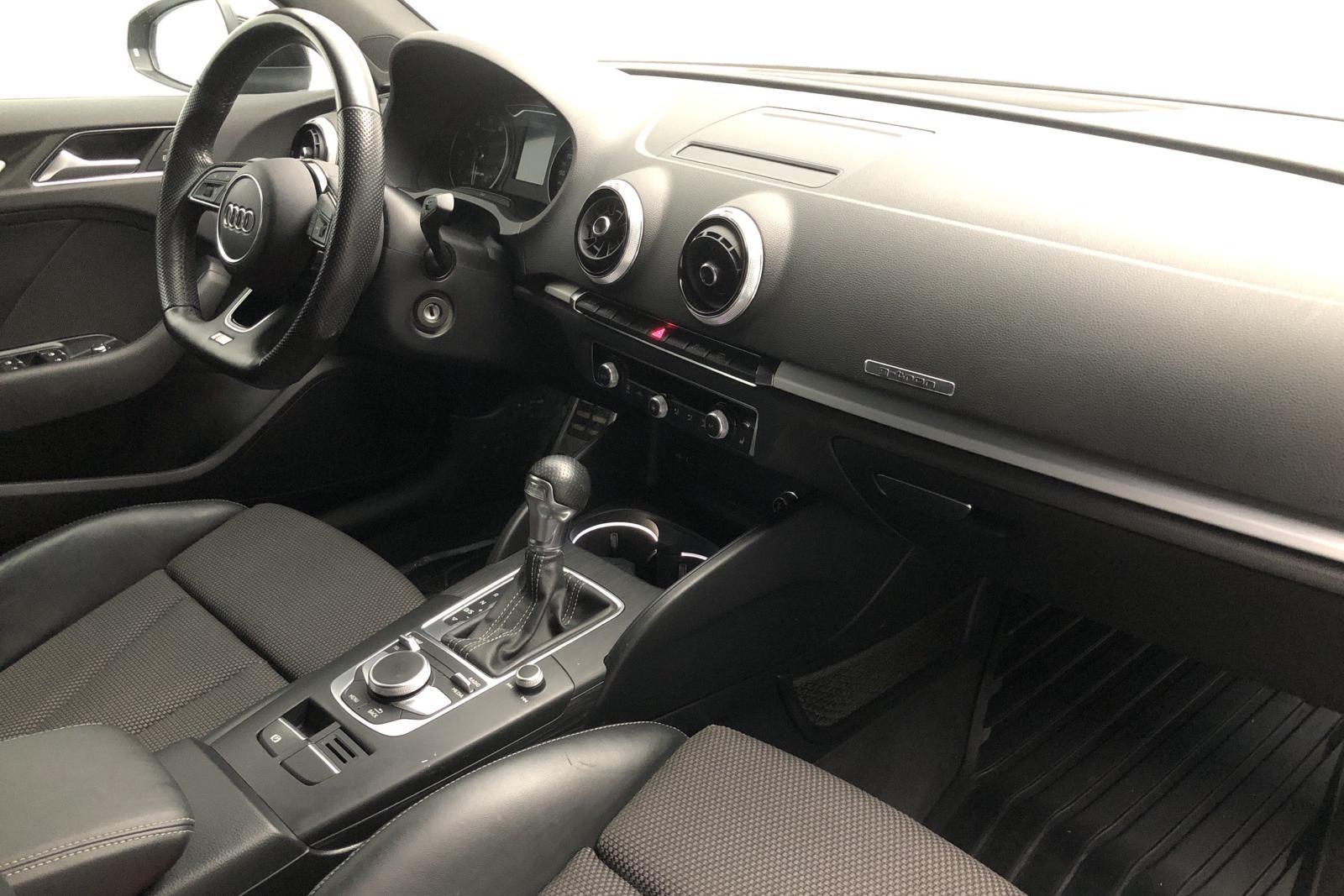 Audi A3 1.4 TFSI g-tron Sportback (110hk) - 114 980 km - Automatic - black - 2018