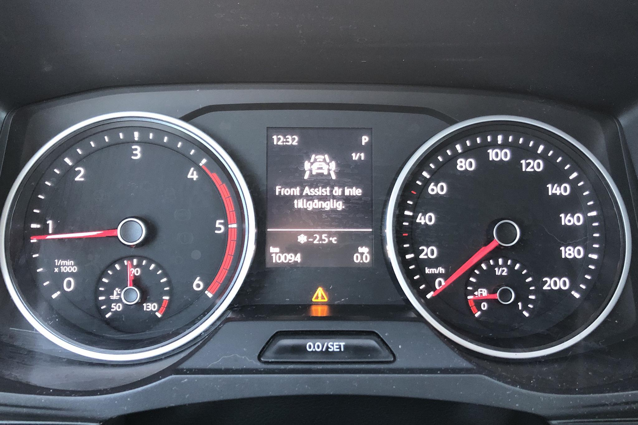 VW Crafter 35 2.0 TDI Dubbelhytt Långflak 4Motion (177hk) - 10 090 km - Automatic - black - 2020