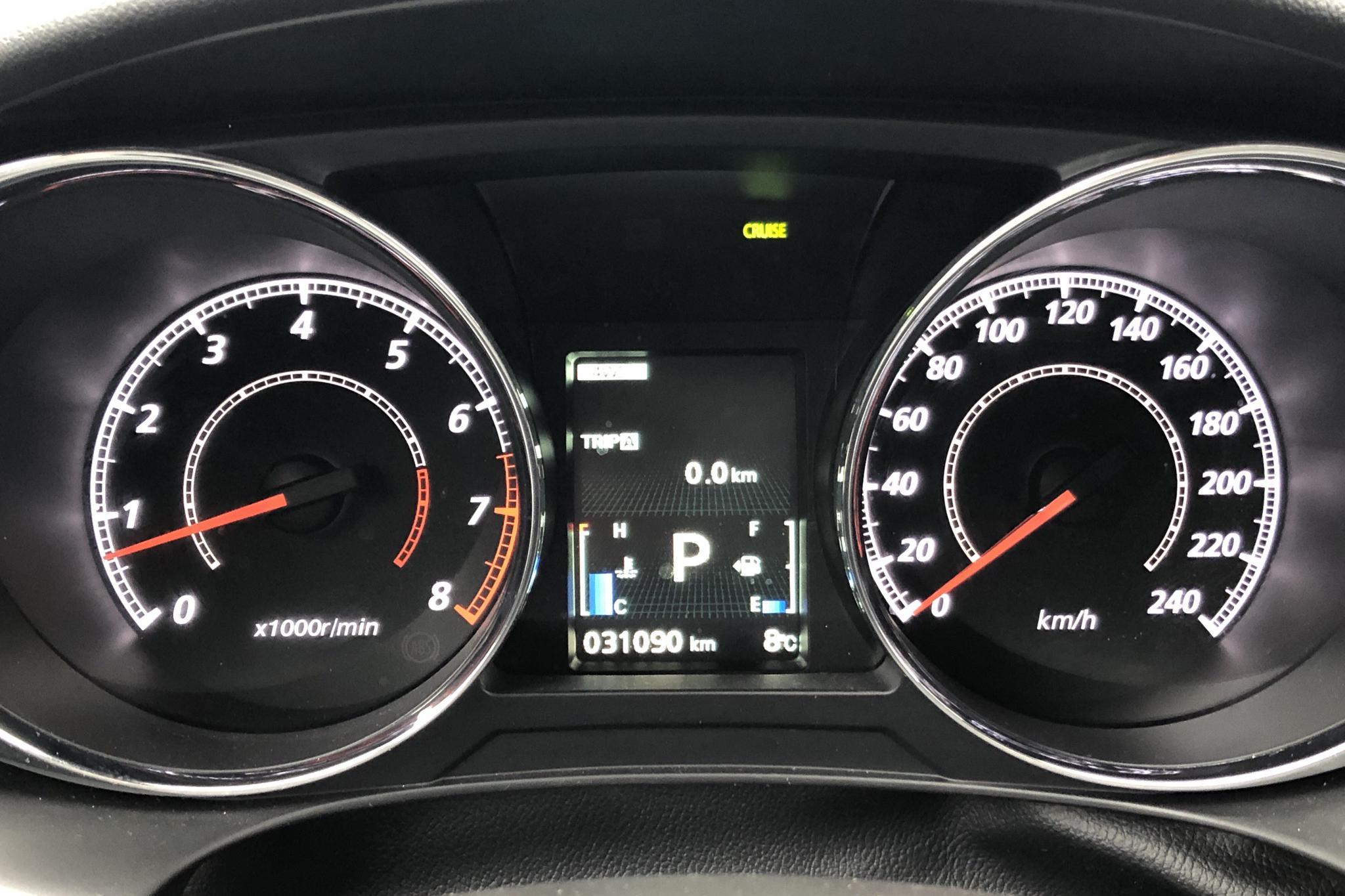 Mitsubishi ASX 2.0 4WD (150hk) - 3 109 mil - Automat - brun - 2020