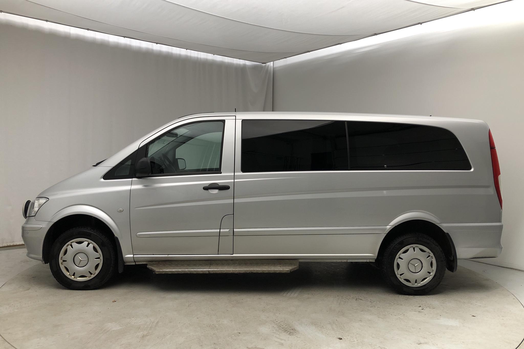 Mercedes Vito 116 CDI 4x4 W639 (163hk) - 270 360 km - Automatic - silver - 2014