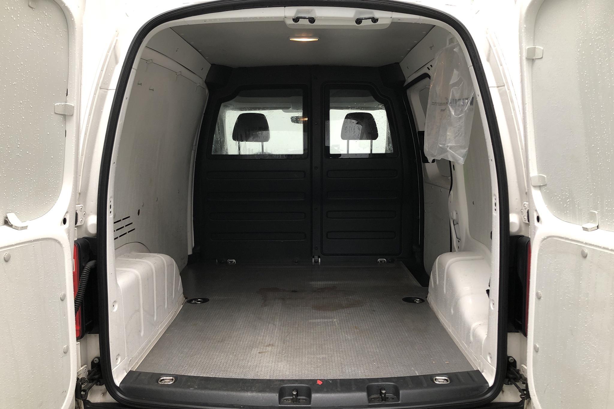 VW Caddy 2.0 TDI Skåp (75hk) - 103 970 km - Manual - white - 2017