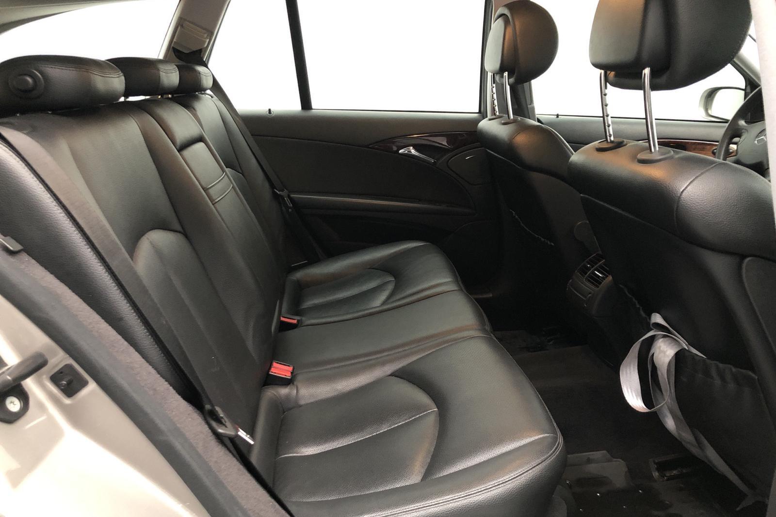 Mercedes E 200 Kompressor Kombi W211 (163hk) - 20 949 mil - Automat - silver - 2006