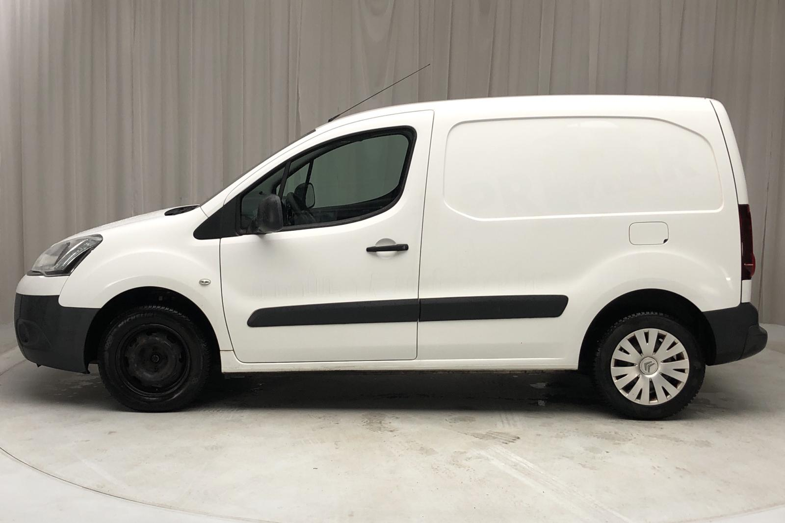 Citroen Berlingo III 1.6 HDi Skåp (75hk) - 70 860 km - Manual - white - 2014