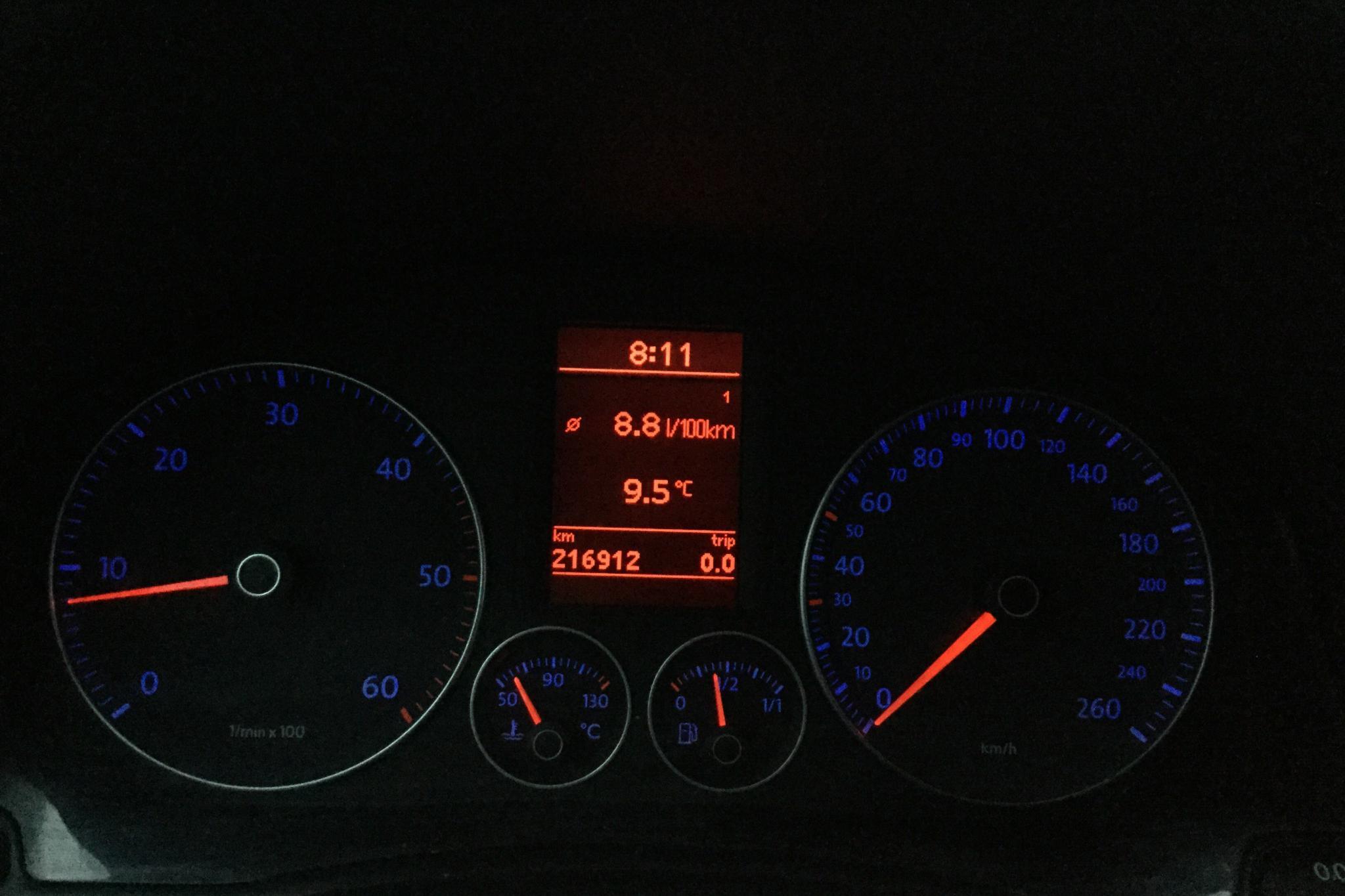 VW Golf A5 1.9 TDI BlueMotion 5dr (105hk) - 21 691 mil - Manuell - silver - 2008