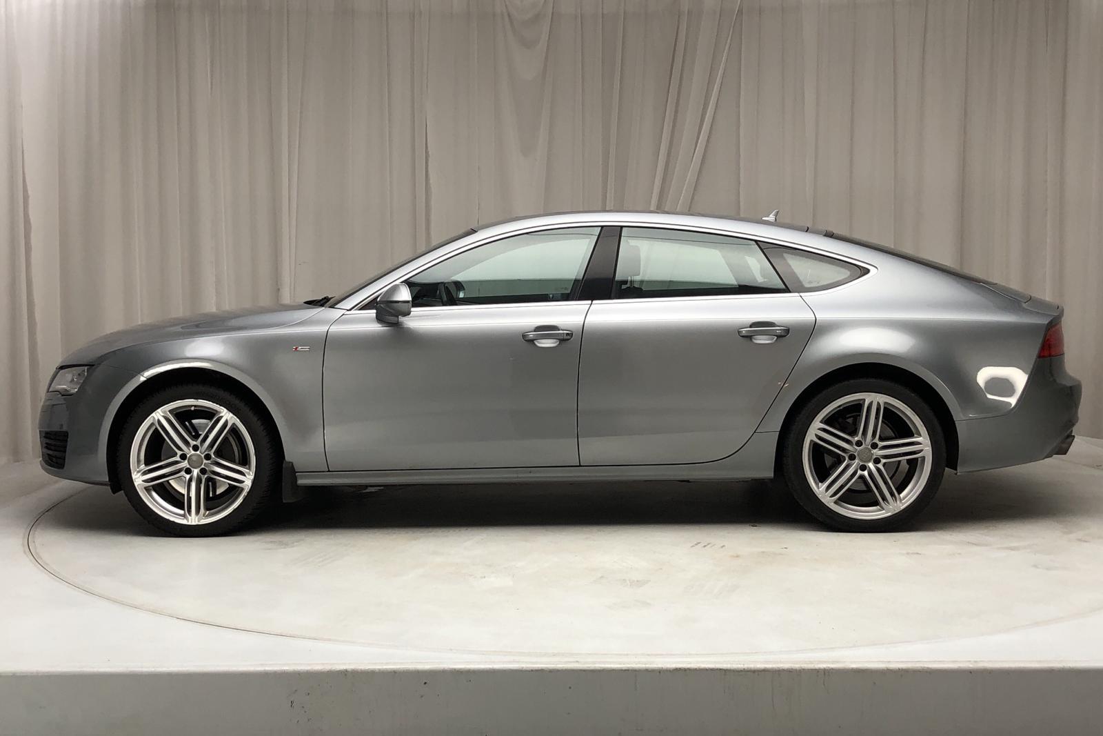 Audi A7 3.0 TFSI Sportback quattro (300hk) - 122 630 km - Automatic - gray - 2011