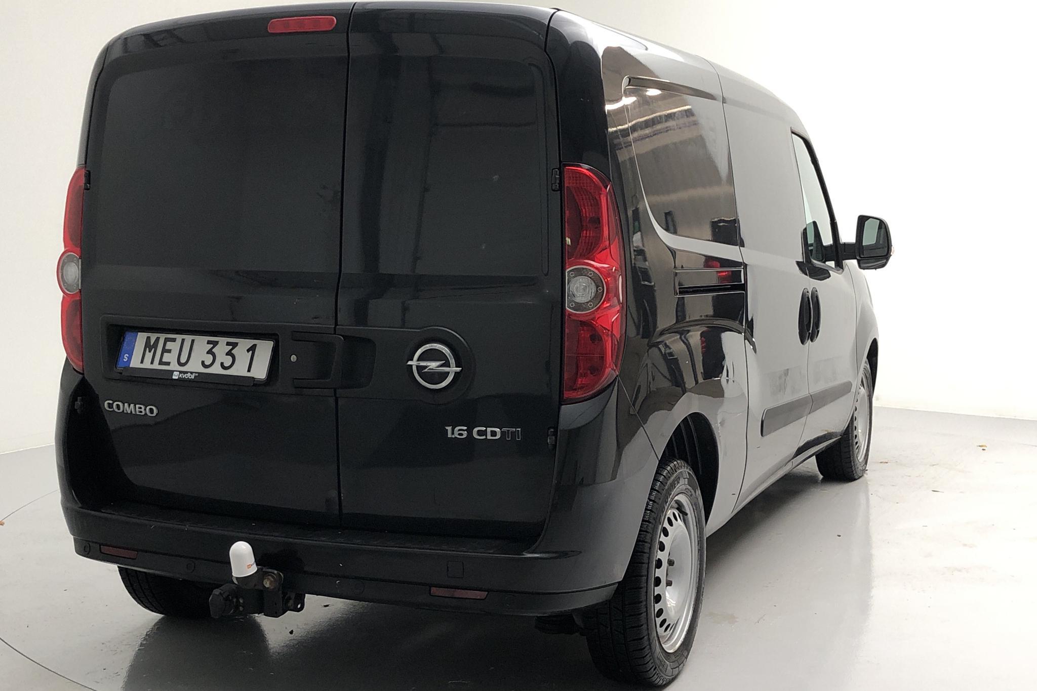 Opel Combo 1.6 CDTI Skåp (105hk) - 13 180 mil - Manuell - svart - 2016