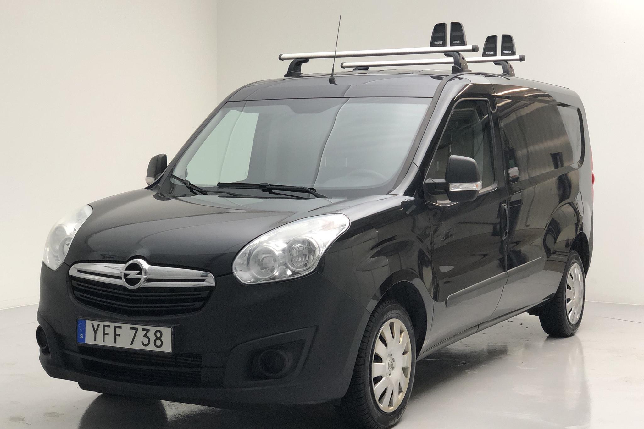 Opel Combo 1.3 CDTI Skåp (95hk) - 11 981 mil - Manuell - svart - 2017
