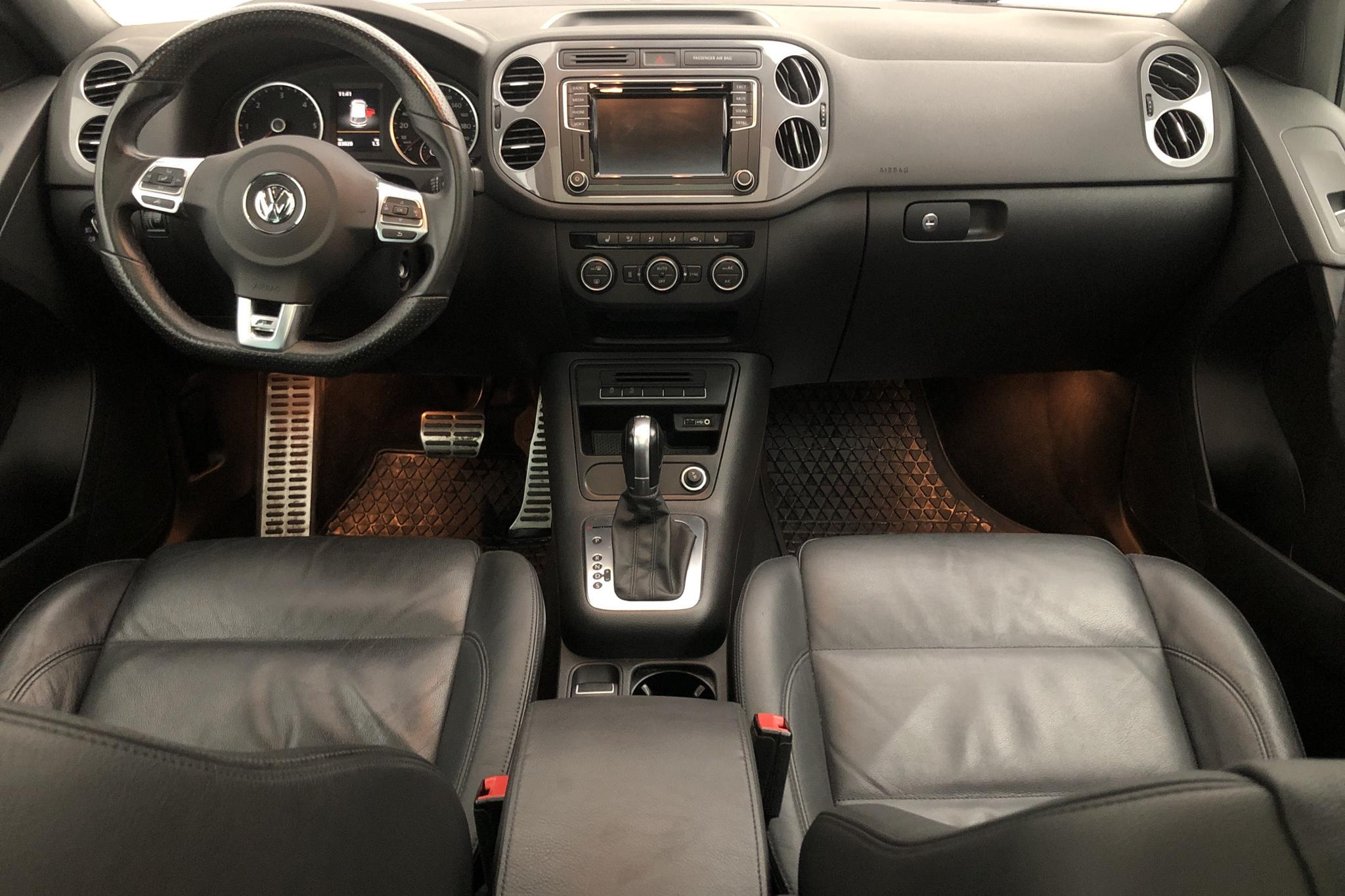 VW Tiguan 2.0 TDI 4MOTION BlueMotion Technology (184hk) - 83 020 km - Automatic - silver - 2016