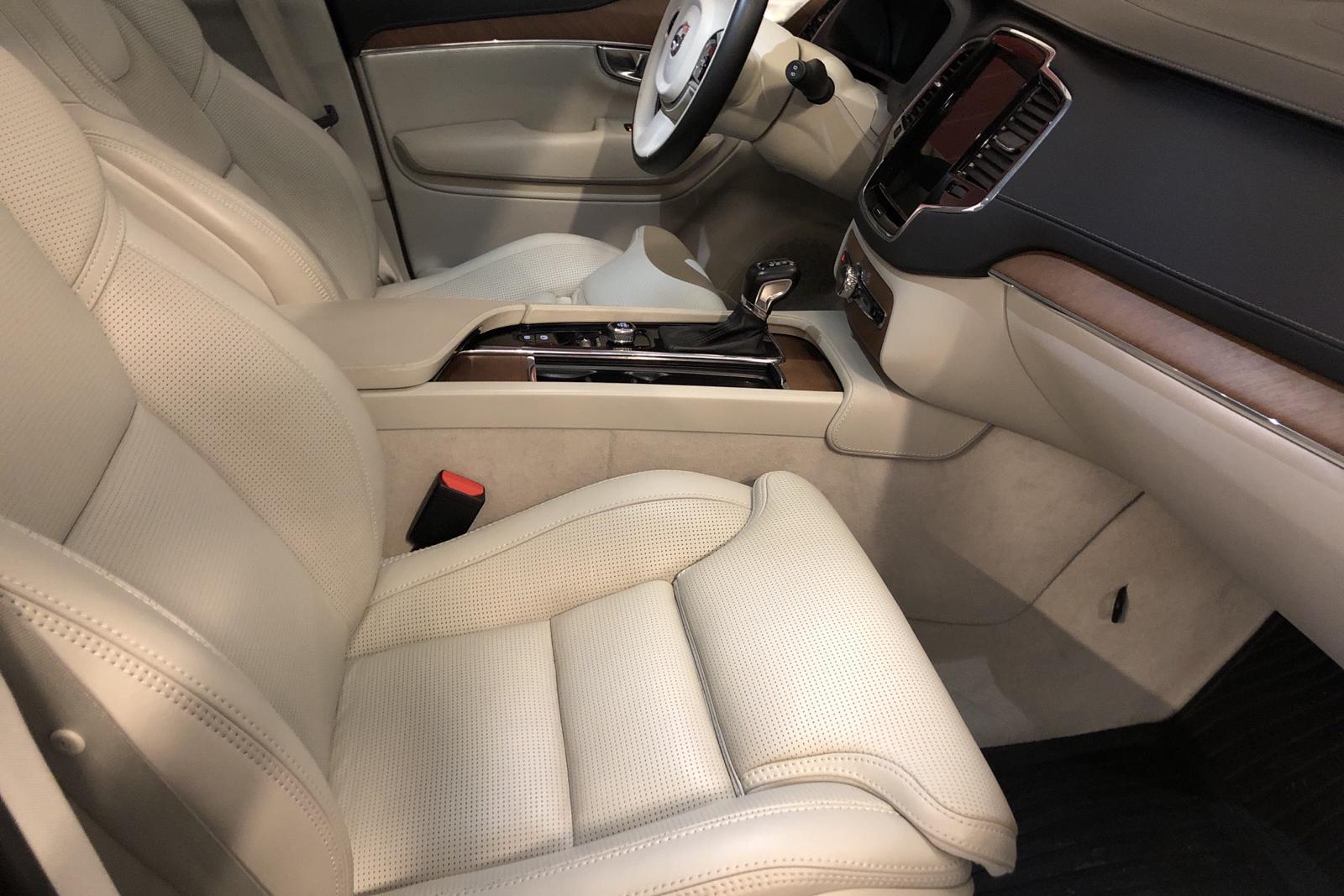 Volvo XC90 D5 AWD (235hk) - 8 481 mil - Automat - Light Brown - 2018