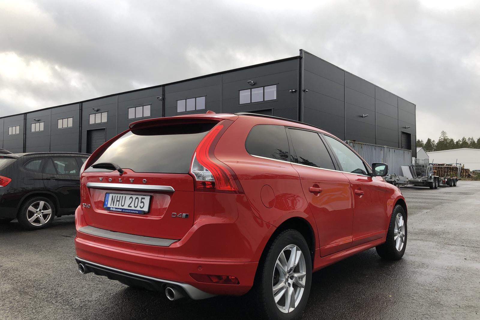 Volvo XC60 D4 AWD (190hk) - 107 680 km - Automatic - red - 2017