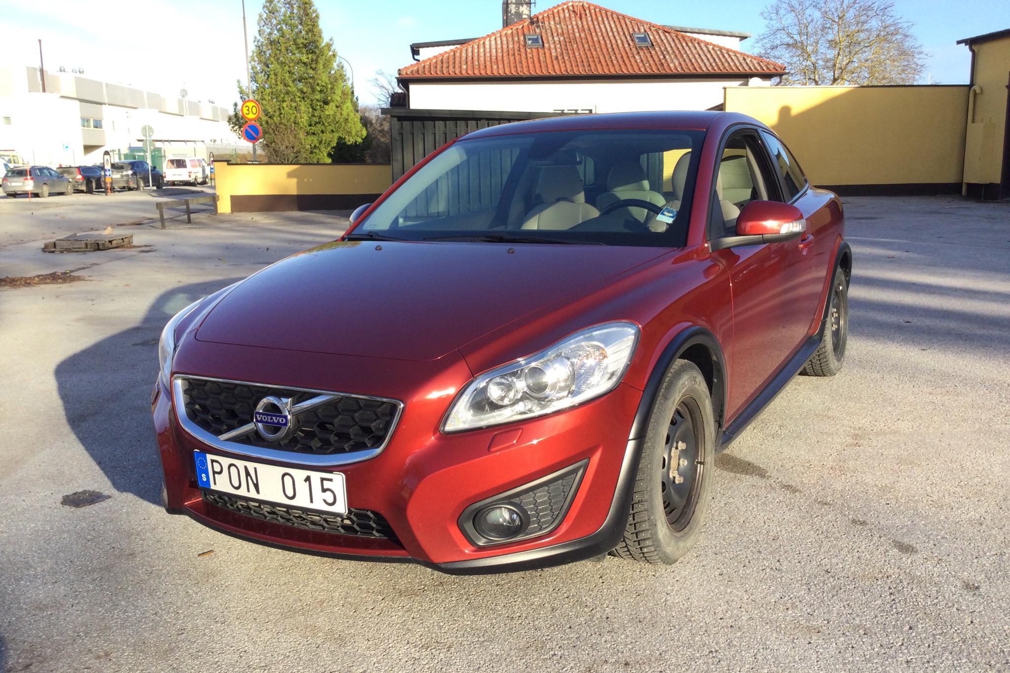 Volvo C30 1.6D DRIVe (109hk) - 106 370 km - Manual - red - 2011