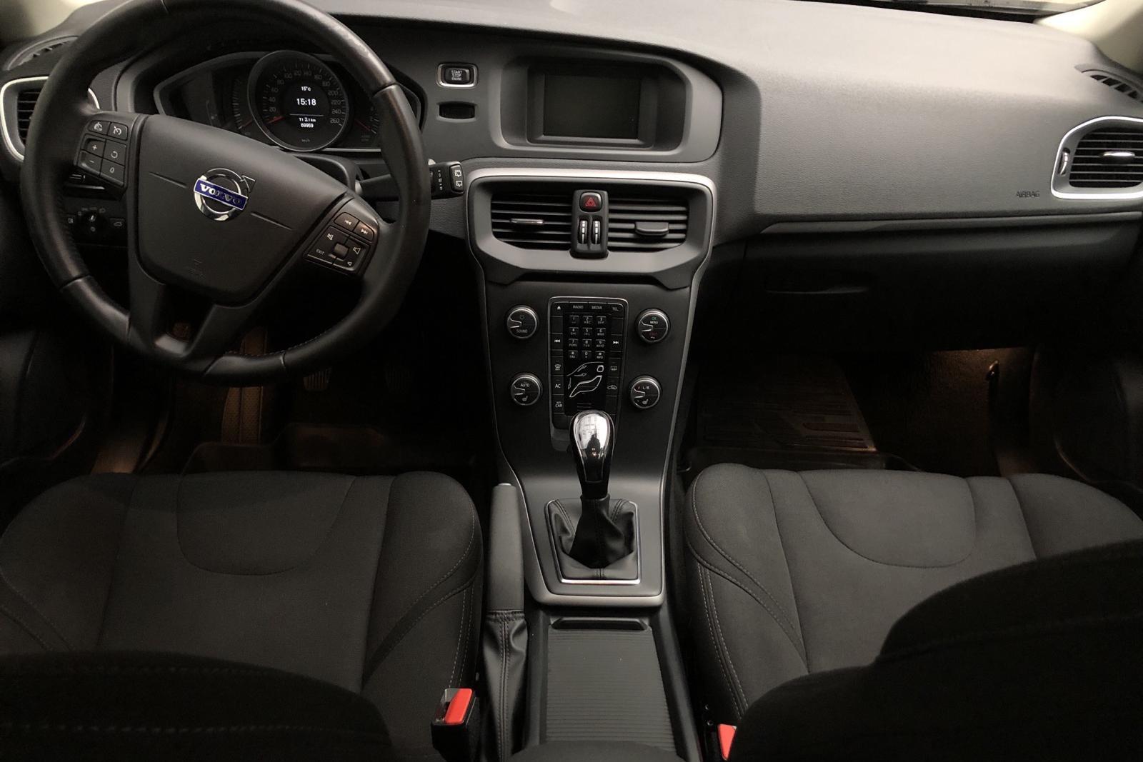Volvo V40 T2 (122hk) - 69 950 km - Manual - white - 2016