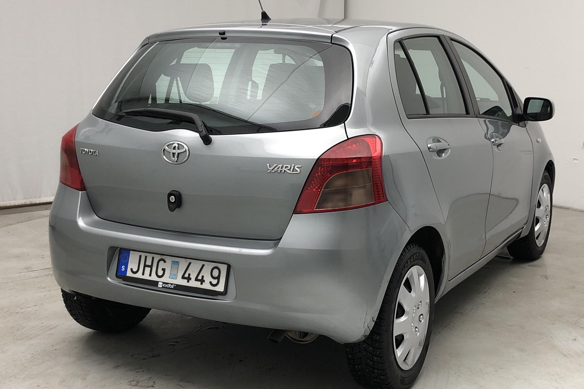 Toyota Yaris 1.3 5dr (87hk) - 54 520 km - Manual - gray - 2006
