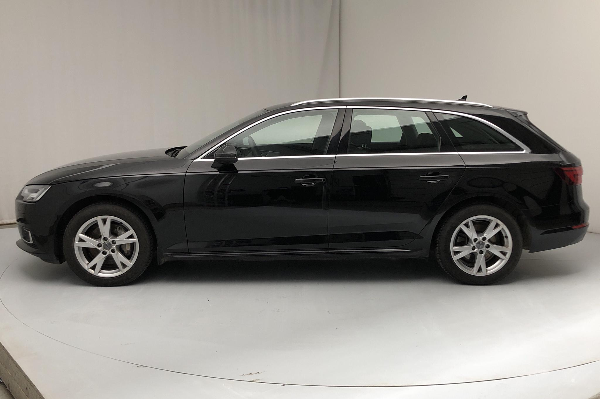 Audi A4 2.0 TDI Avant quattro (190hk) - 58 900 km - Automatic - black - 2018