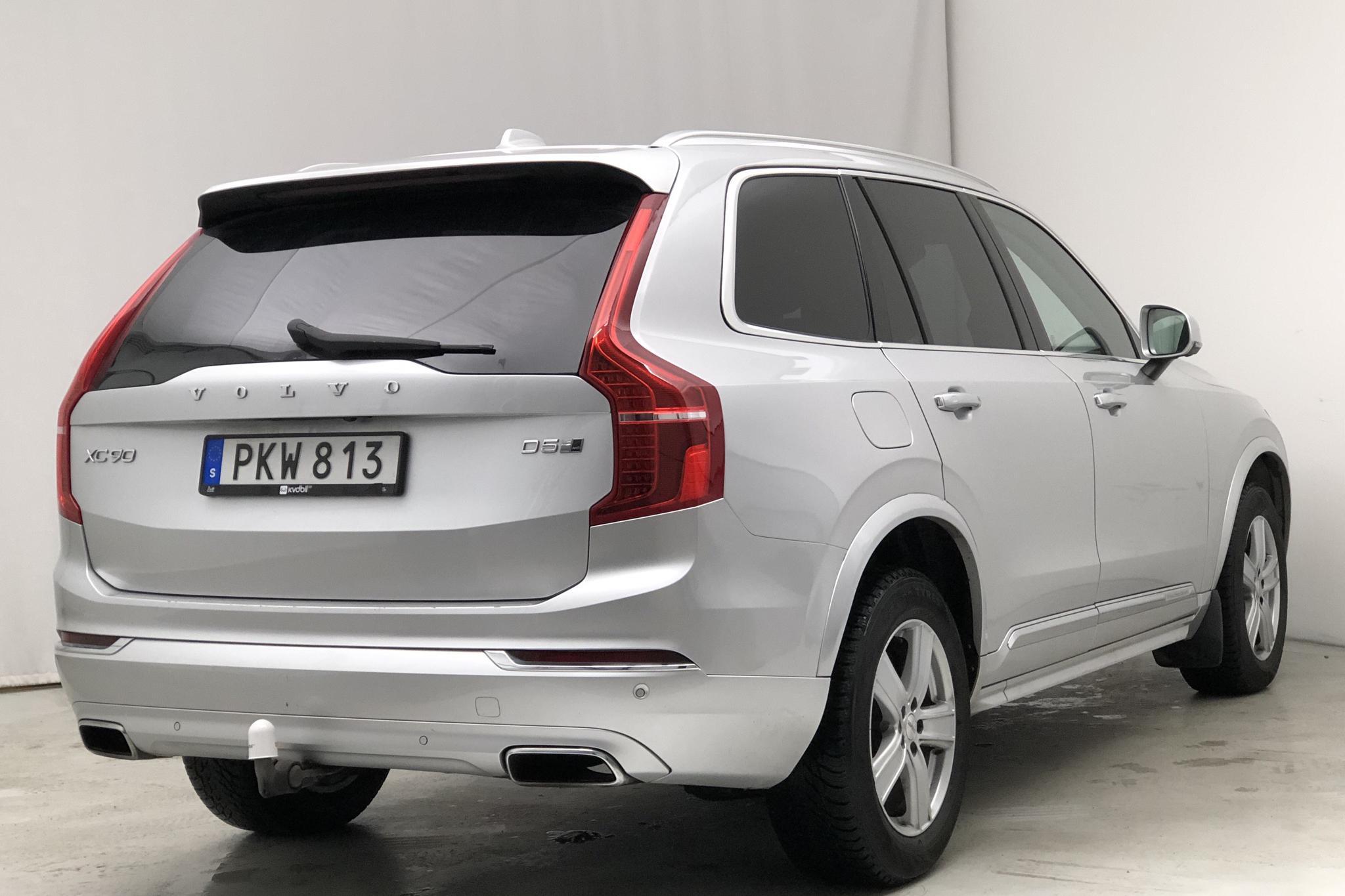 Volvo XC90 D5 AWD (235hk) - 14 825 mil - Automat - silver - 2018