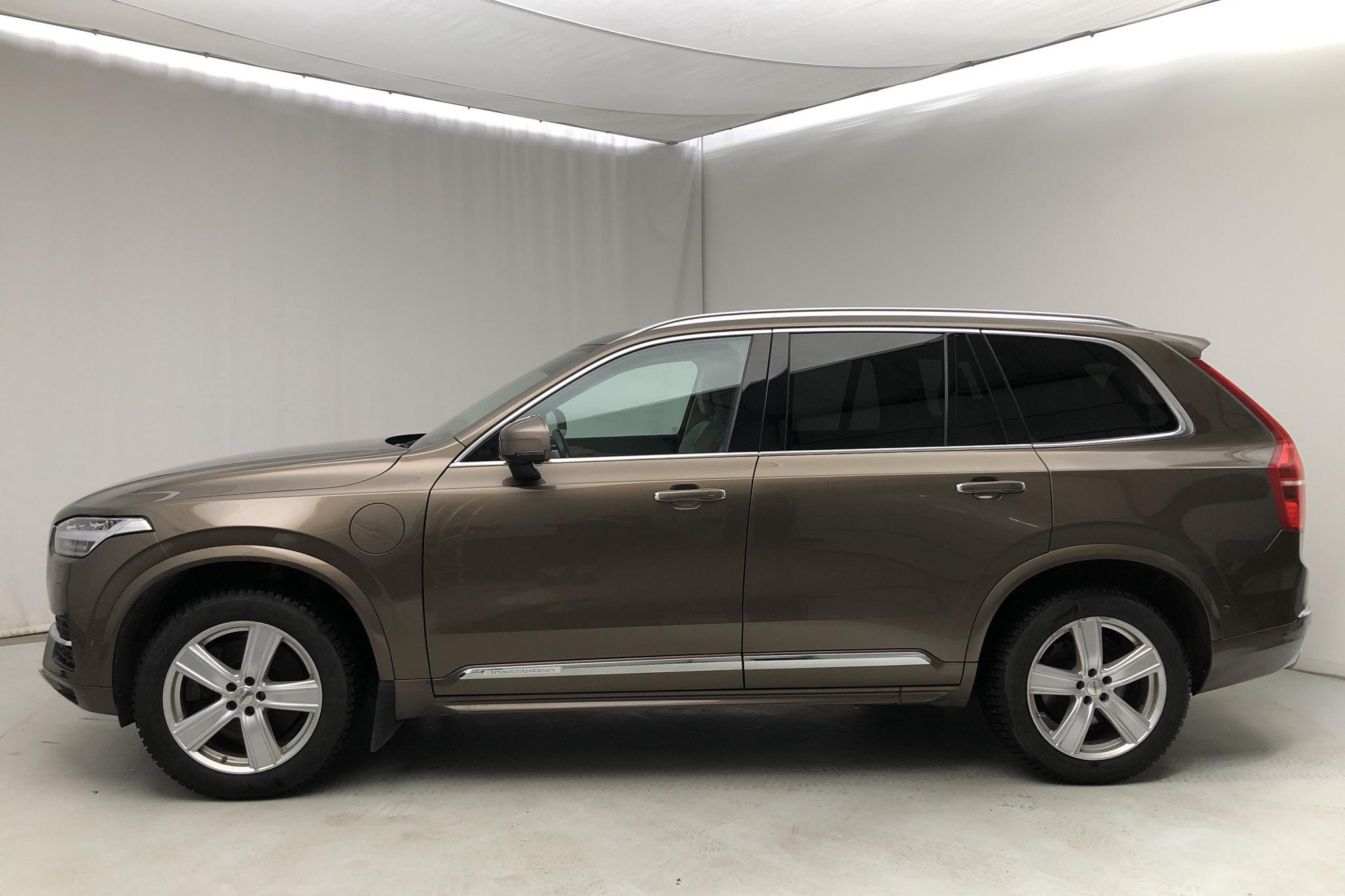 Volvo XC90 T8 AWD Twin Engine (400hk) - 108 920 km - Automatic - brown - 2017
