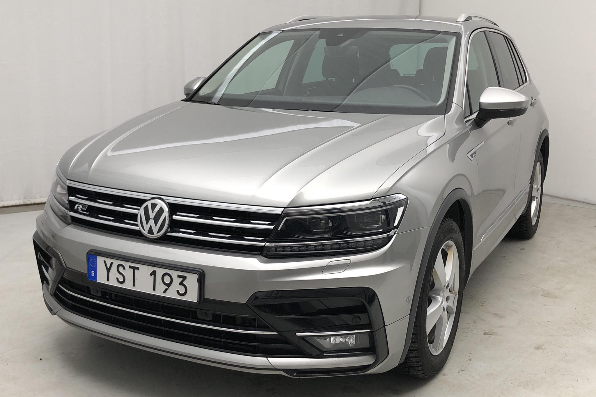 VW Tiguan 2.0 TDI 4MOTION (190hk) - 7 538 mil - Automat - silver - 2018