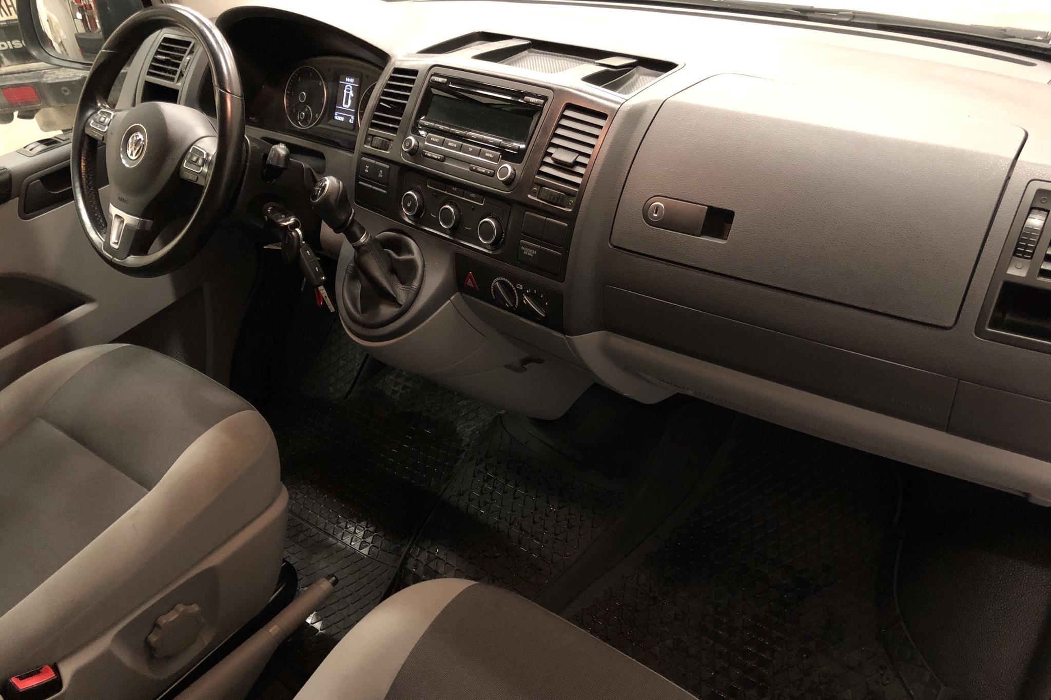 VW Transporter T5 2.0 TDI 4MOTION (140hk) - 162 840 km - Manual - white - 2015