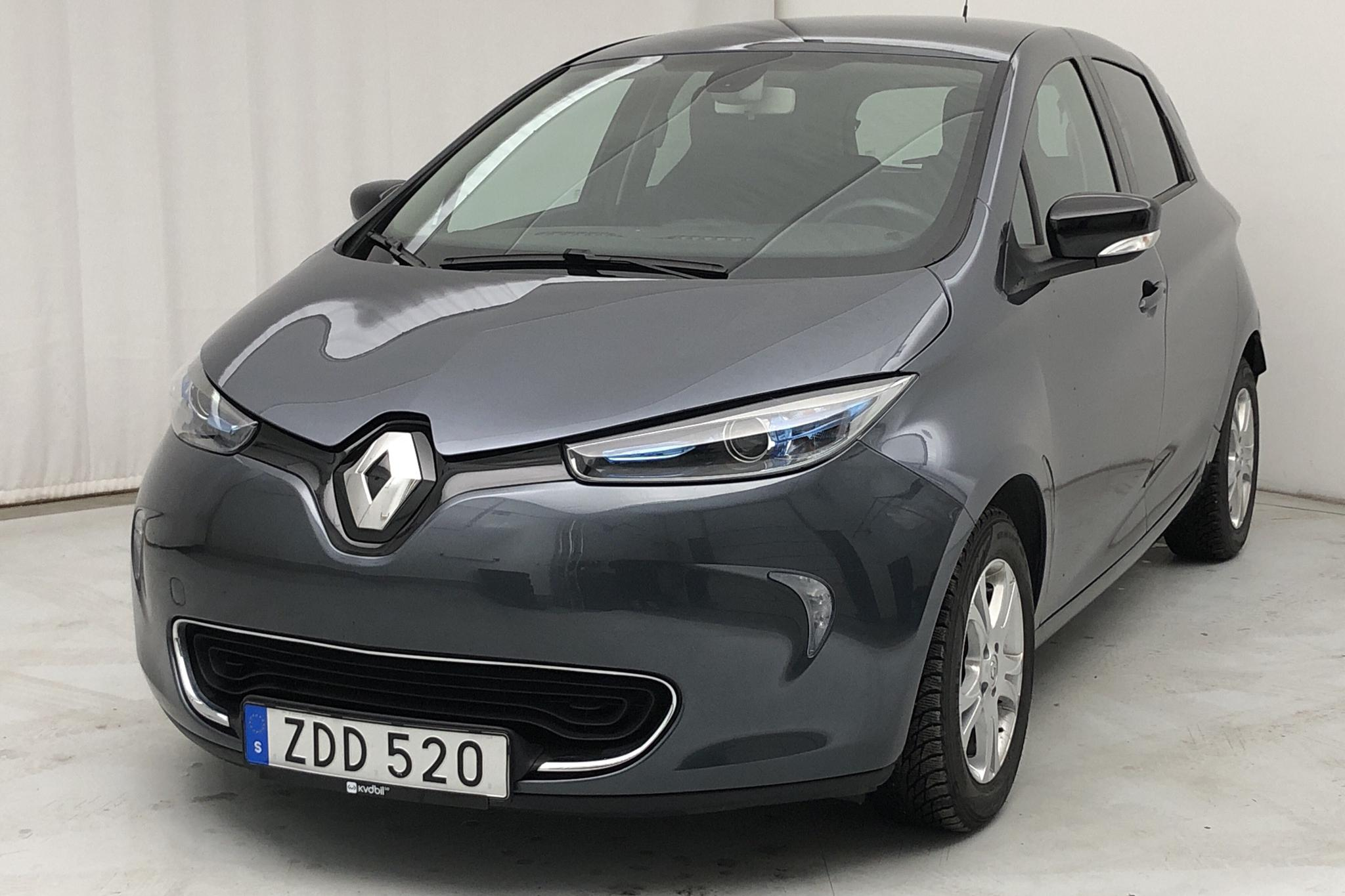 Renault Zoe 41 kWh R90 (92hk) - 31 340 km - Automatic - gray - 2018