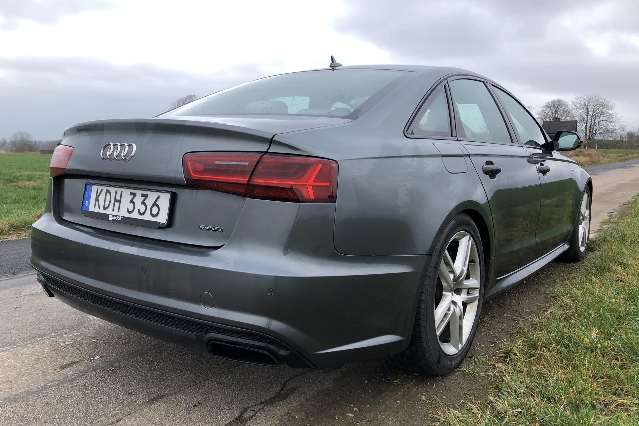 Audi A6 3.0 TDI quattro (326hk) - 10 571 mil - Automat - grå - 2016