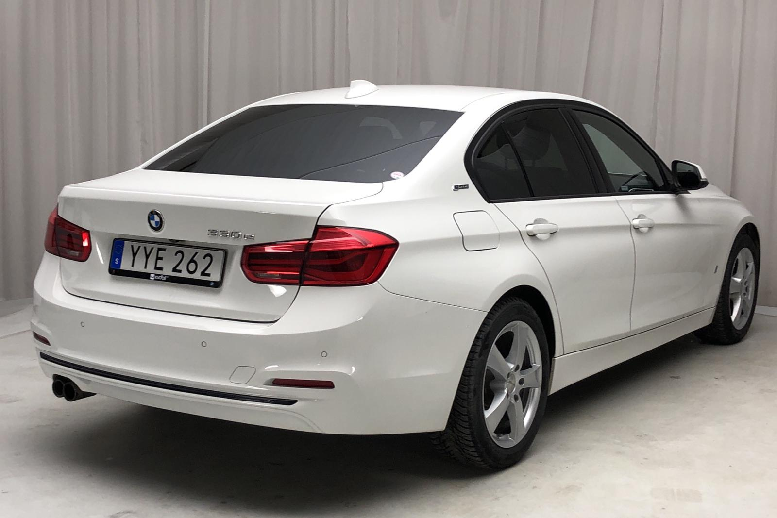 BMW 330e Sedan, F30 (252hk) - 50 200 km - Automatic - white - 2018