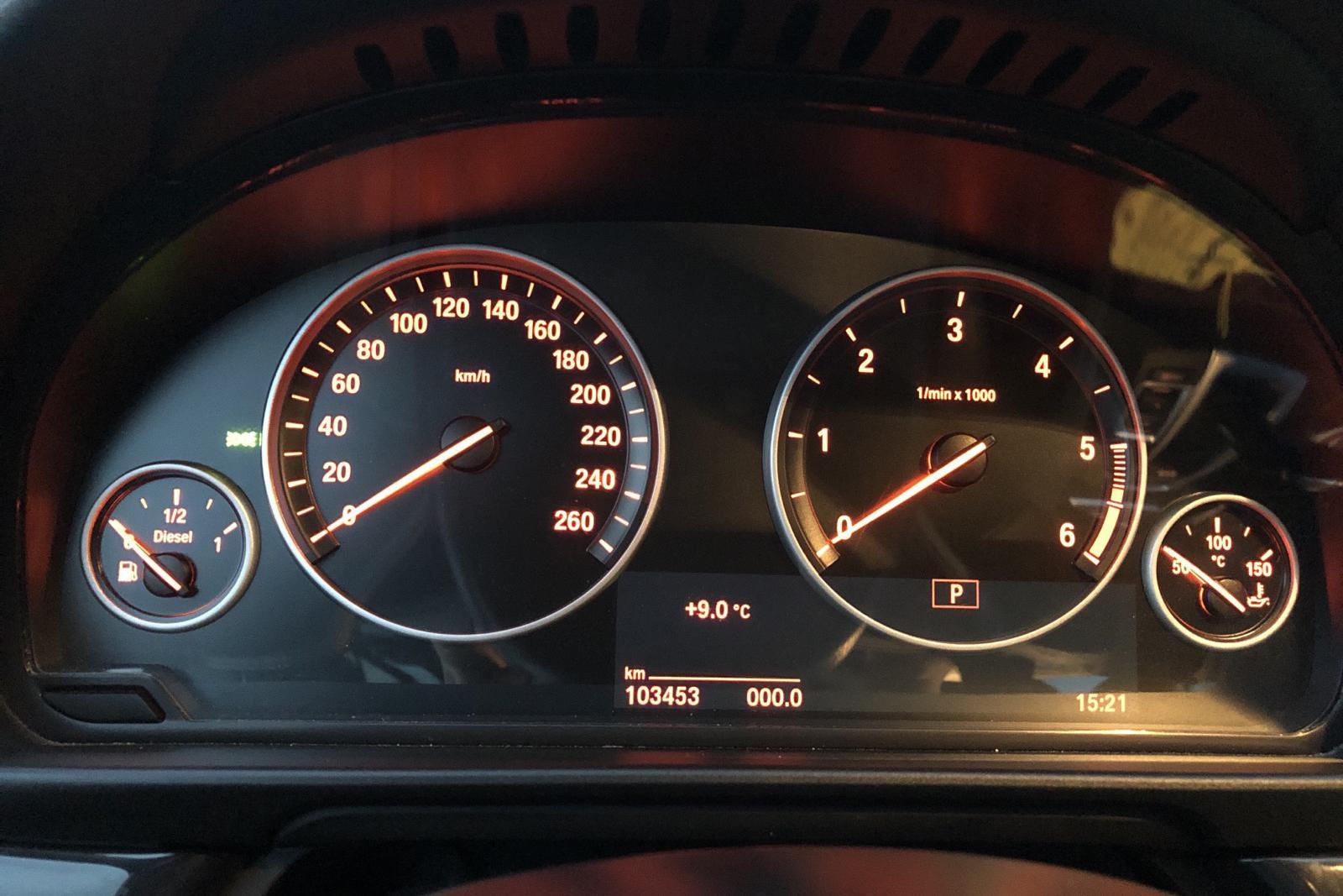 BMW 520d Touring, F11 (190hk) - 10 345 mil - Automat - svart - 2017