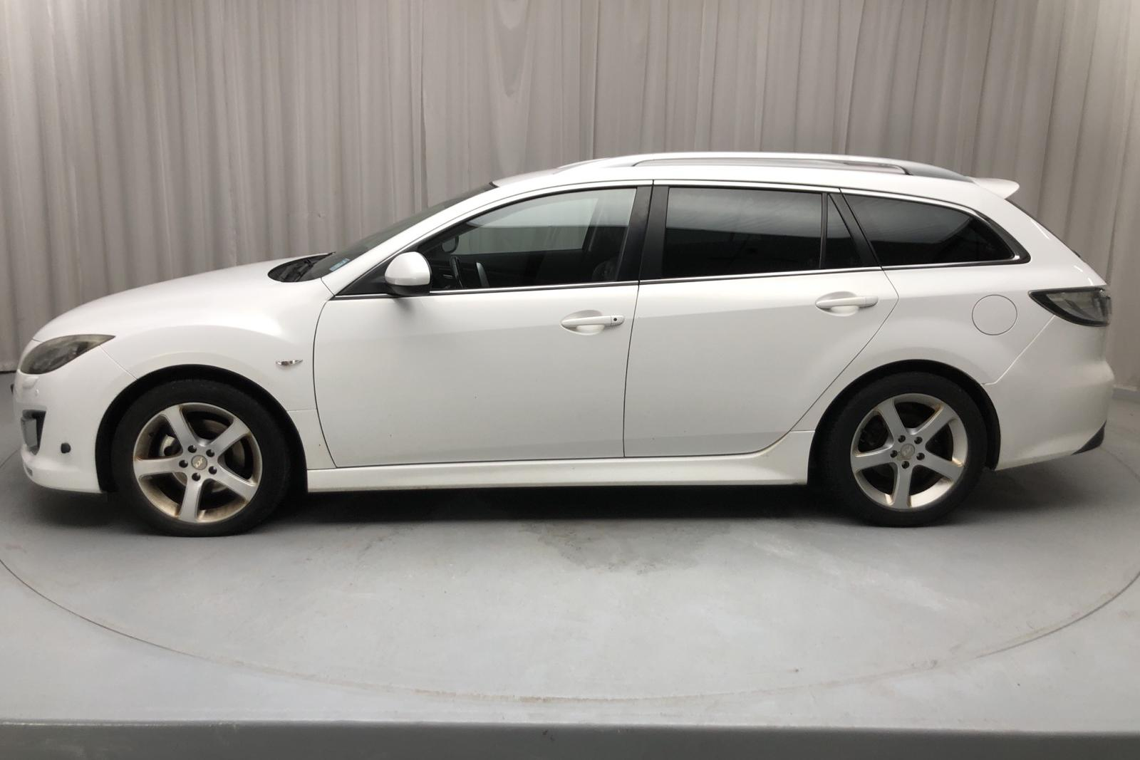 Mazda 6 2.5 Kombi (170hk) - 233 890 km - Manual - white - 2008