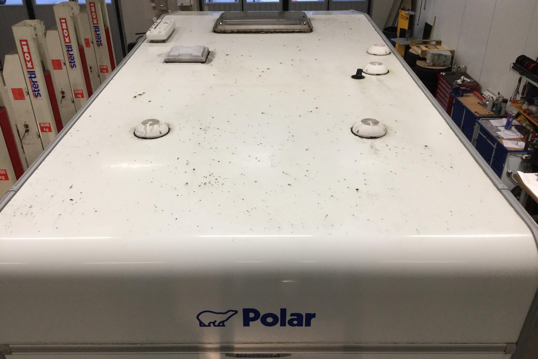 Polar 590 Husvagn med förtält - 0 mil - vit - 2011