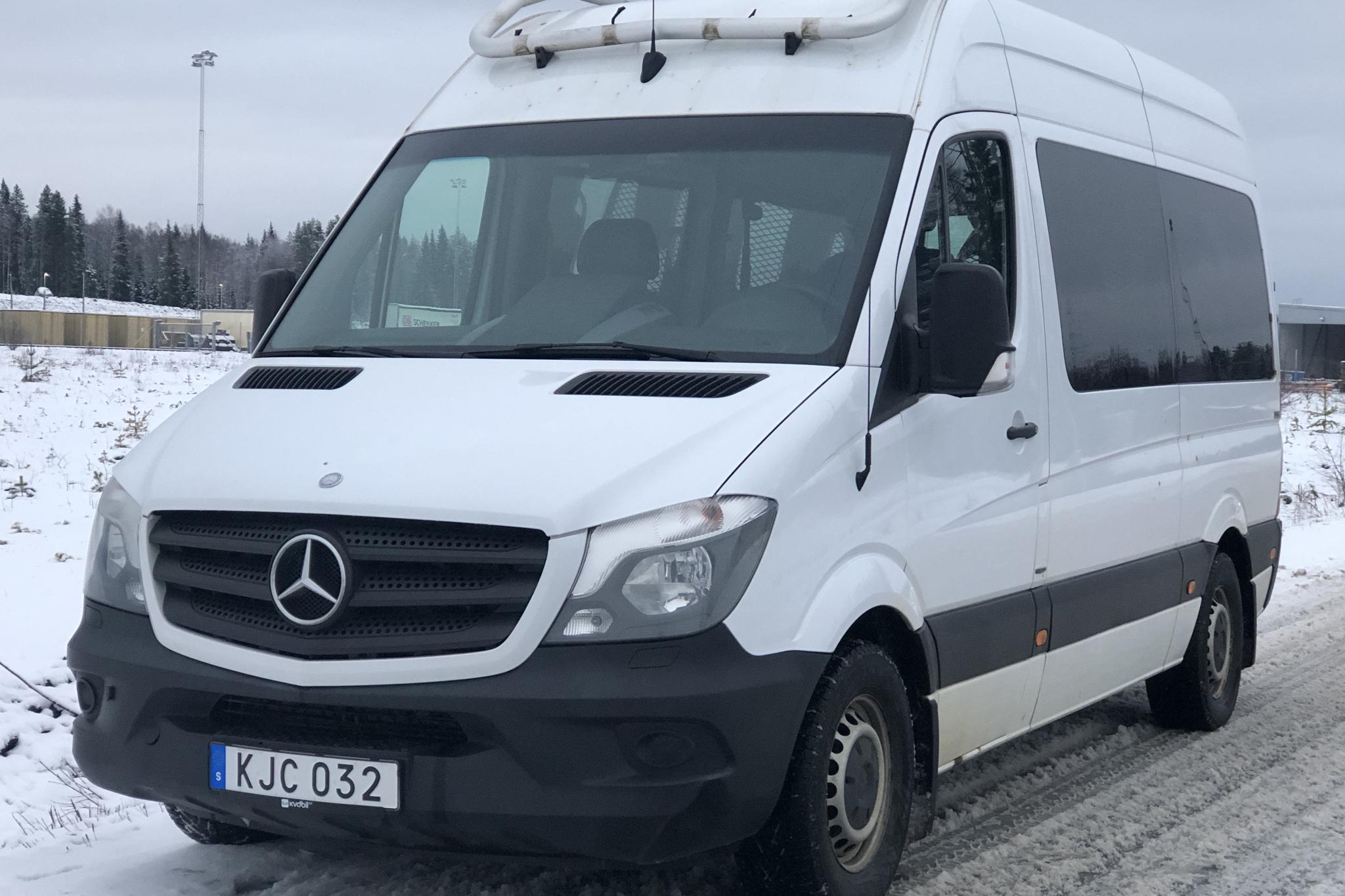Mercedes Sprinter 316 CDI (163hk) - 263 350 km - Automatic - white - 2014