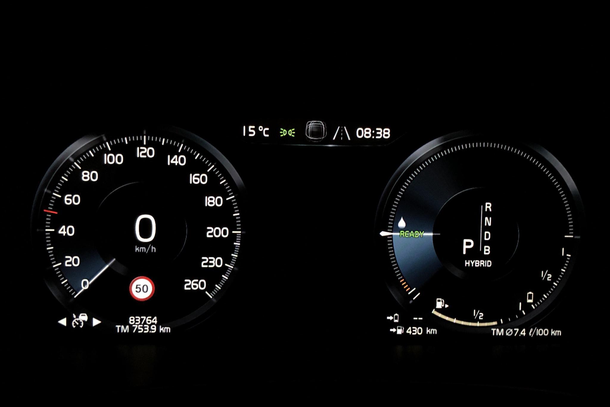 Volvo V90 T8 AWD Twin Engine (407hk) - 8 376 mil - Automat - Dark Grey - 2018