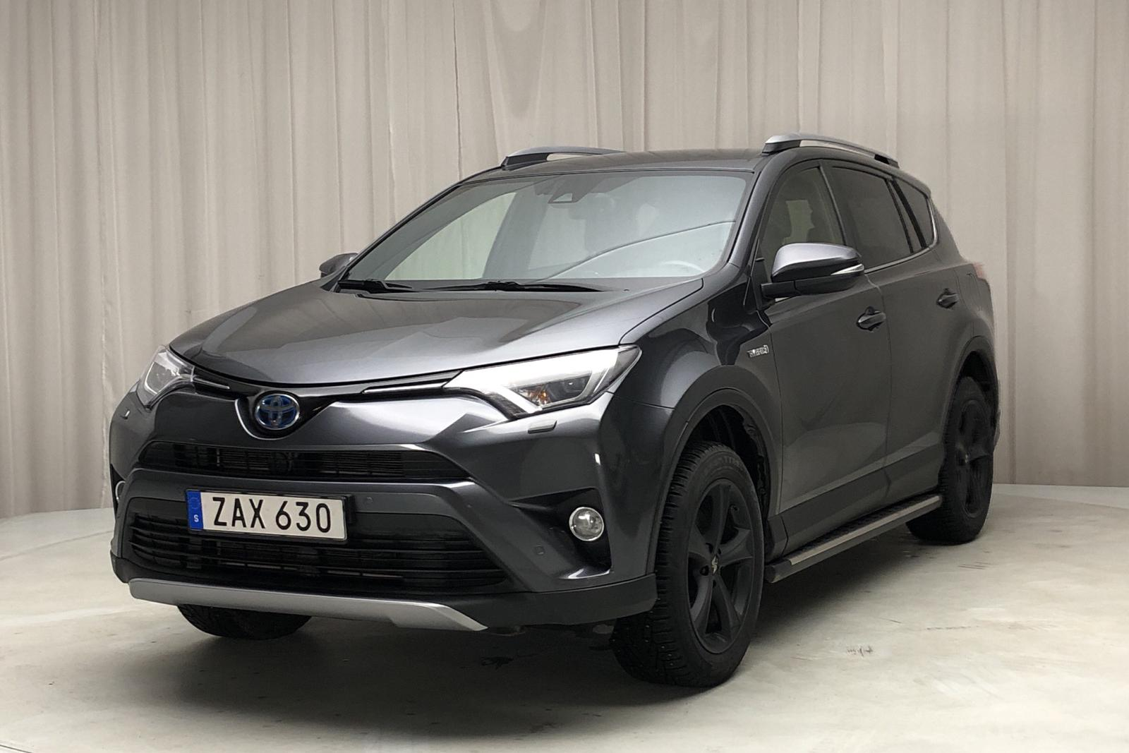 Toyota RAV4 2.5 HSD AWD (197hk) - 10 050 mil - Automat - Dark Grey - 2018