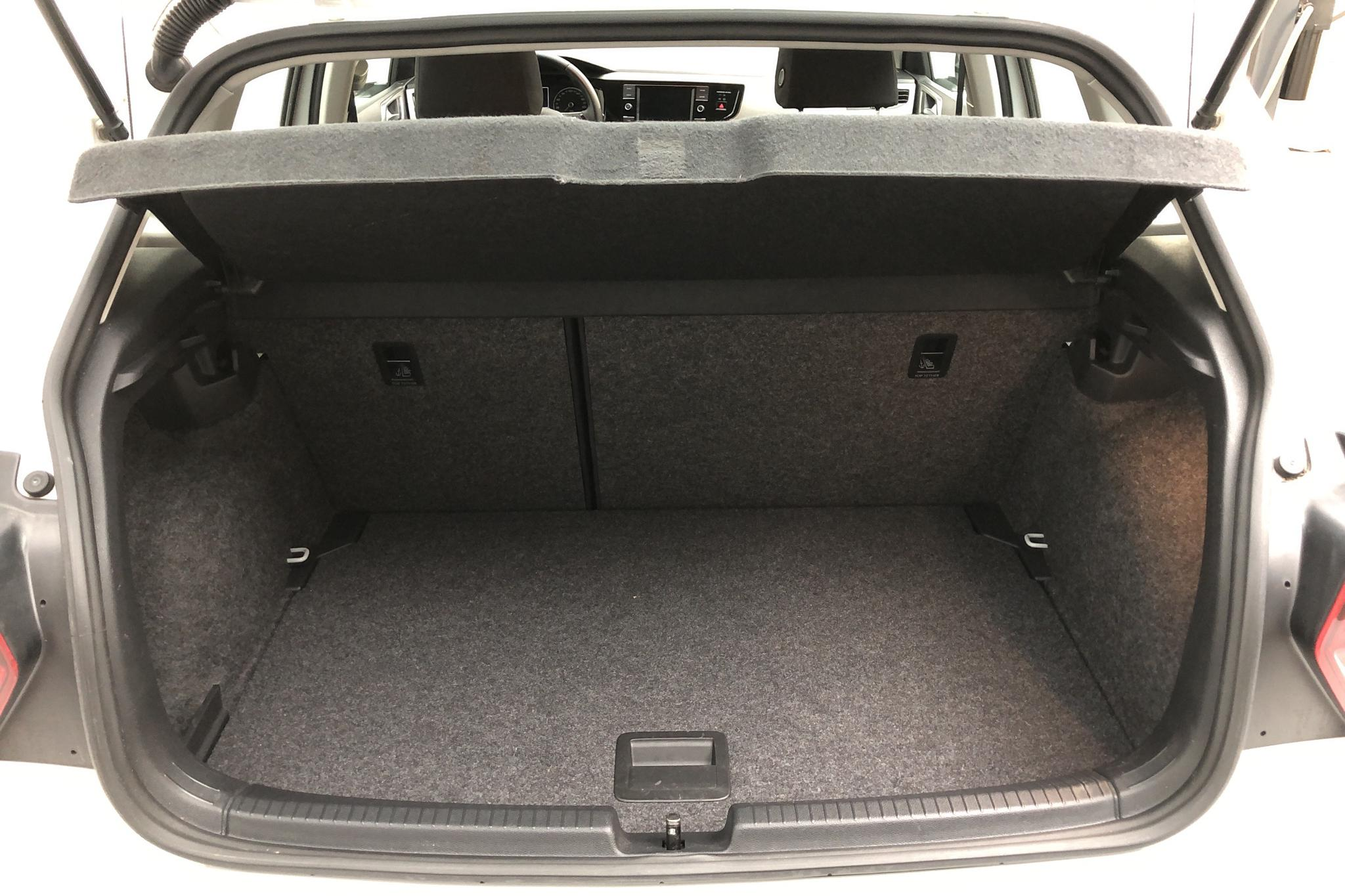 VW Polo 1.0 TSI 5dr (95hk) - 45 260 km - Manual - white - 2019